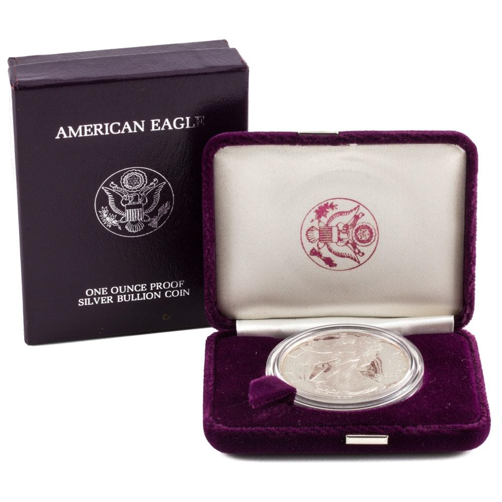 1987 Silver Eagle Dollar Proof
