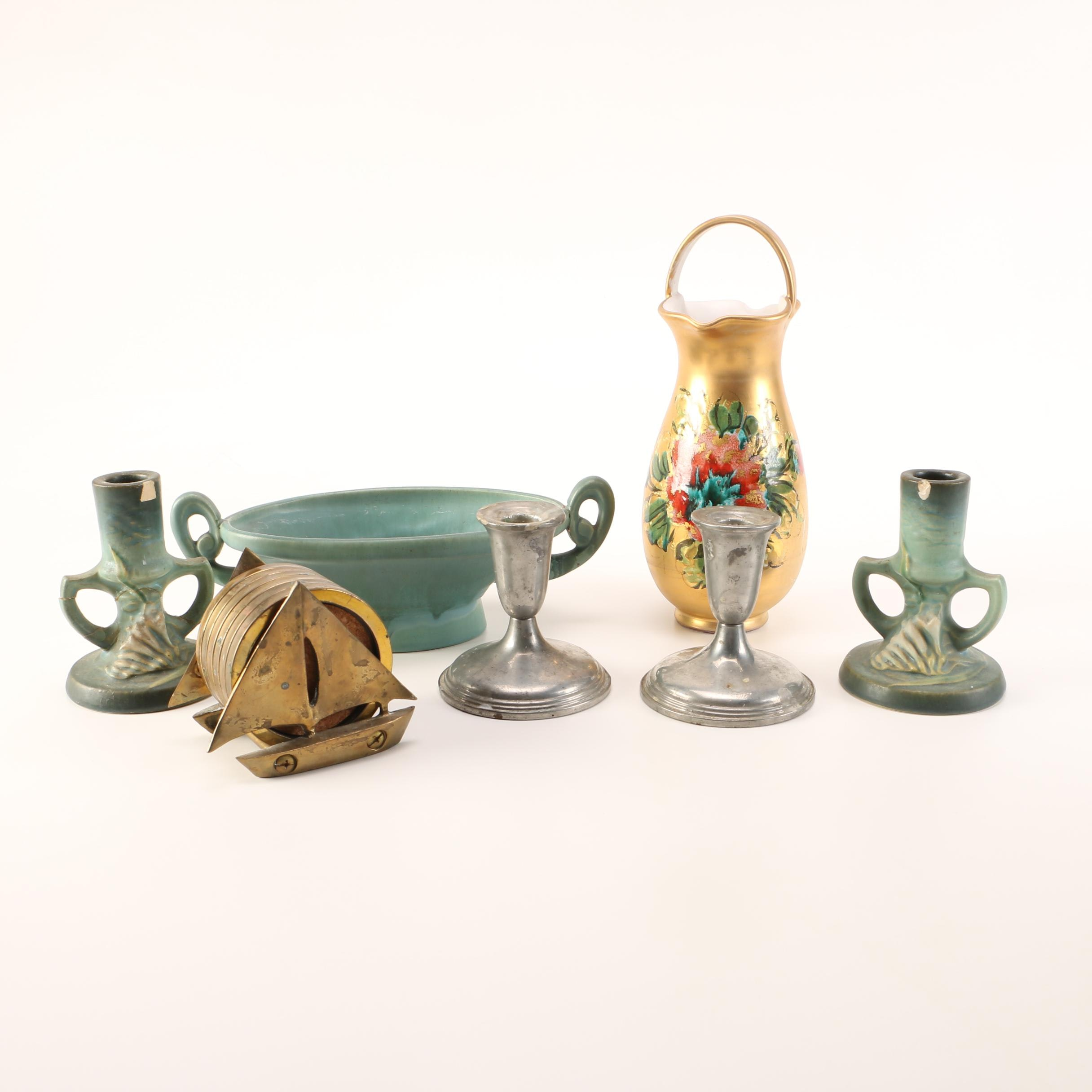 Collection of Home Decor including Roseville