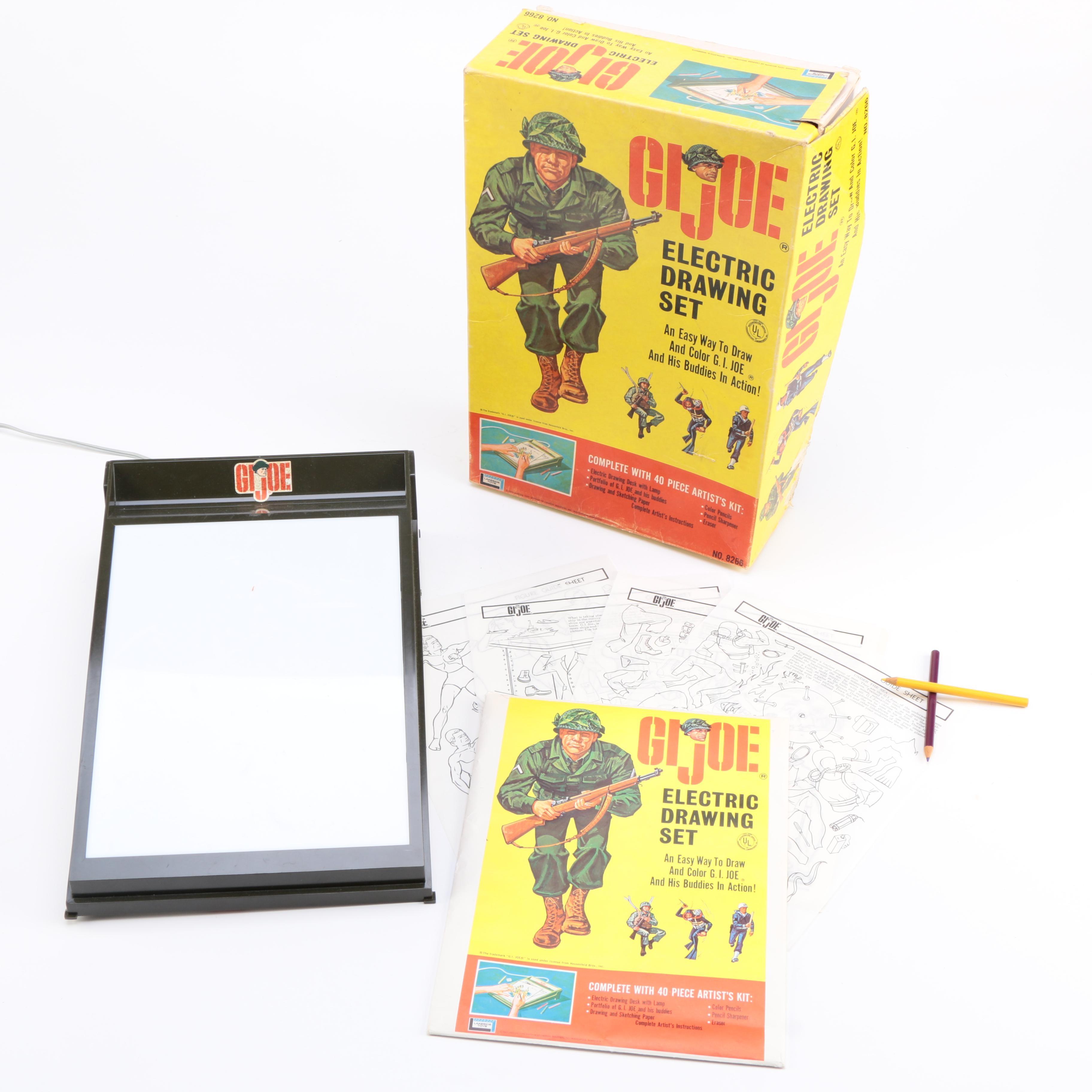 1960s G. I. Joe Electric Drawing Set