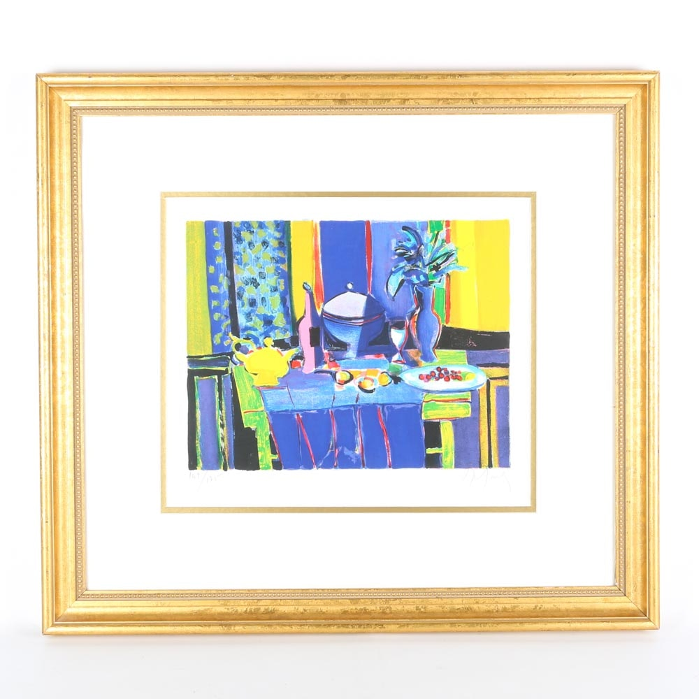 Limited Edition Signed Marcel Mouly Lithograph