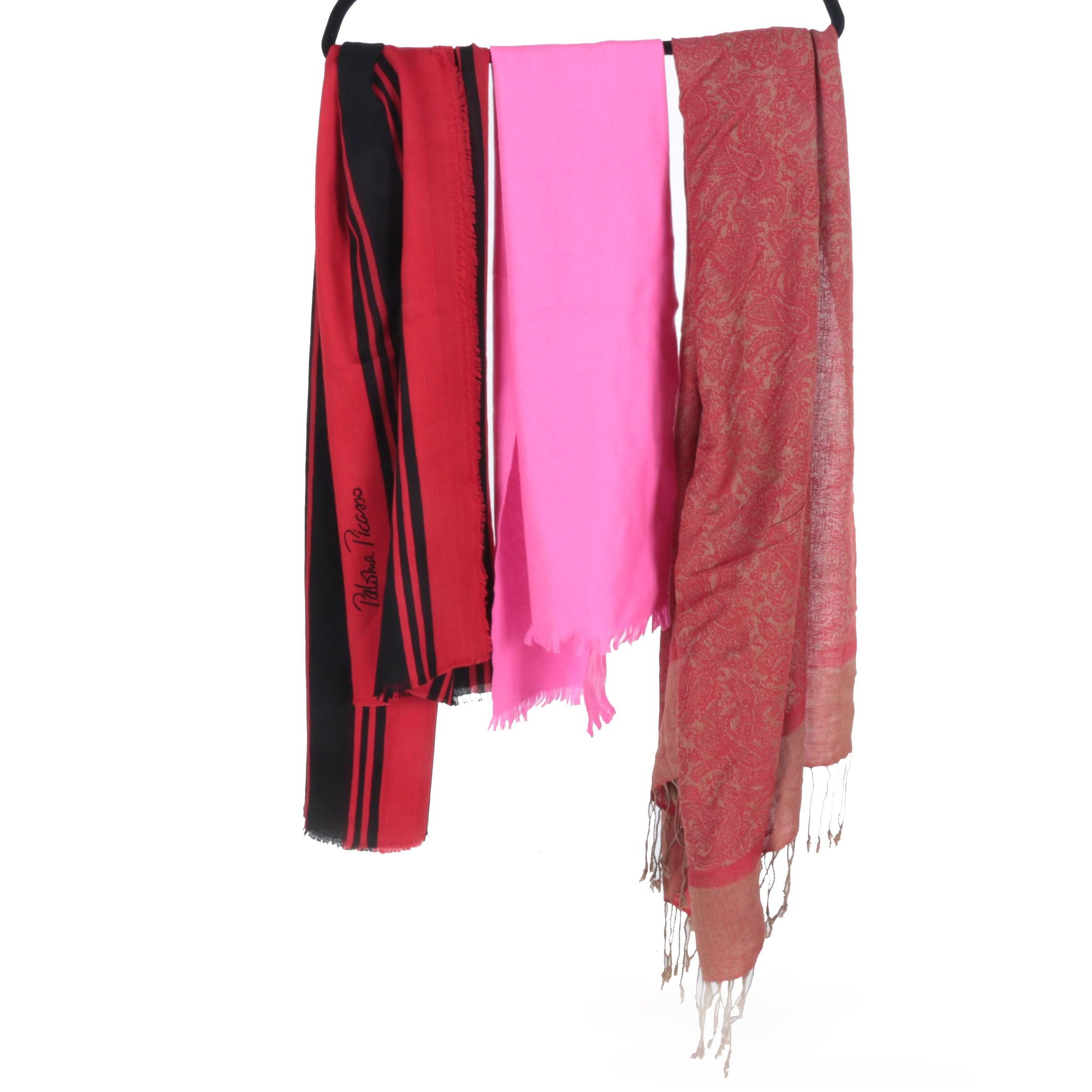 Fashion Scarves Including Paloma Picasso