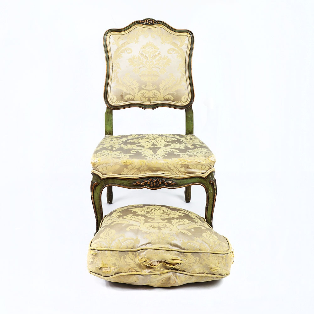 French Provincial Parlor Chair