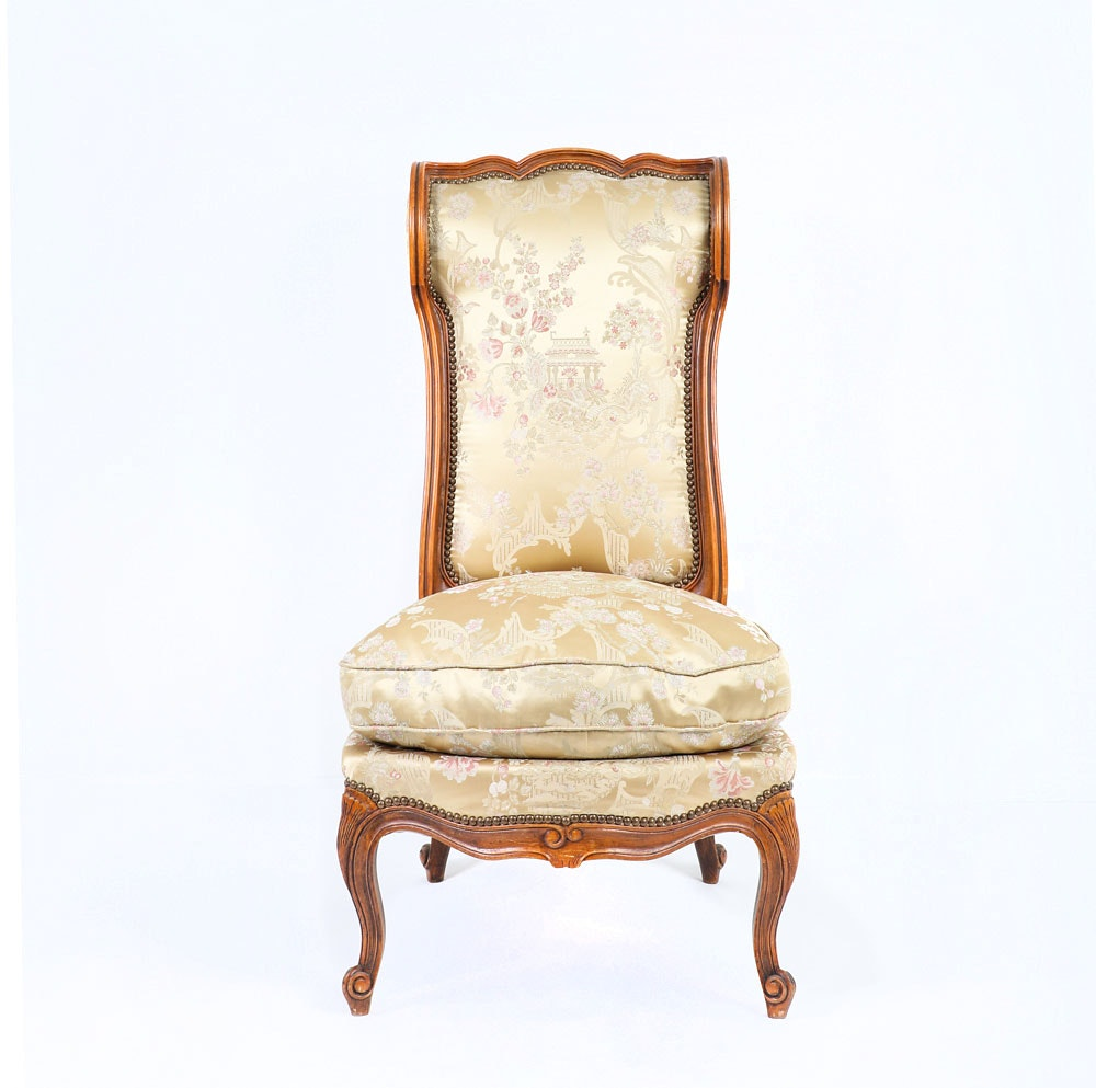 Chippendale Style Parlor Chair