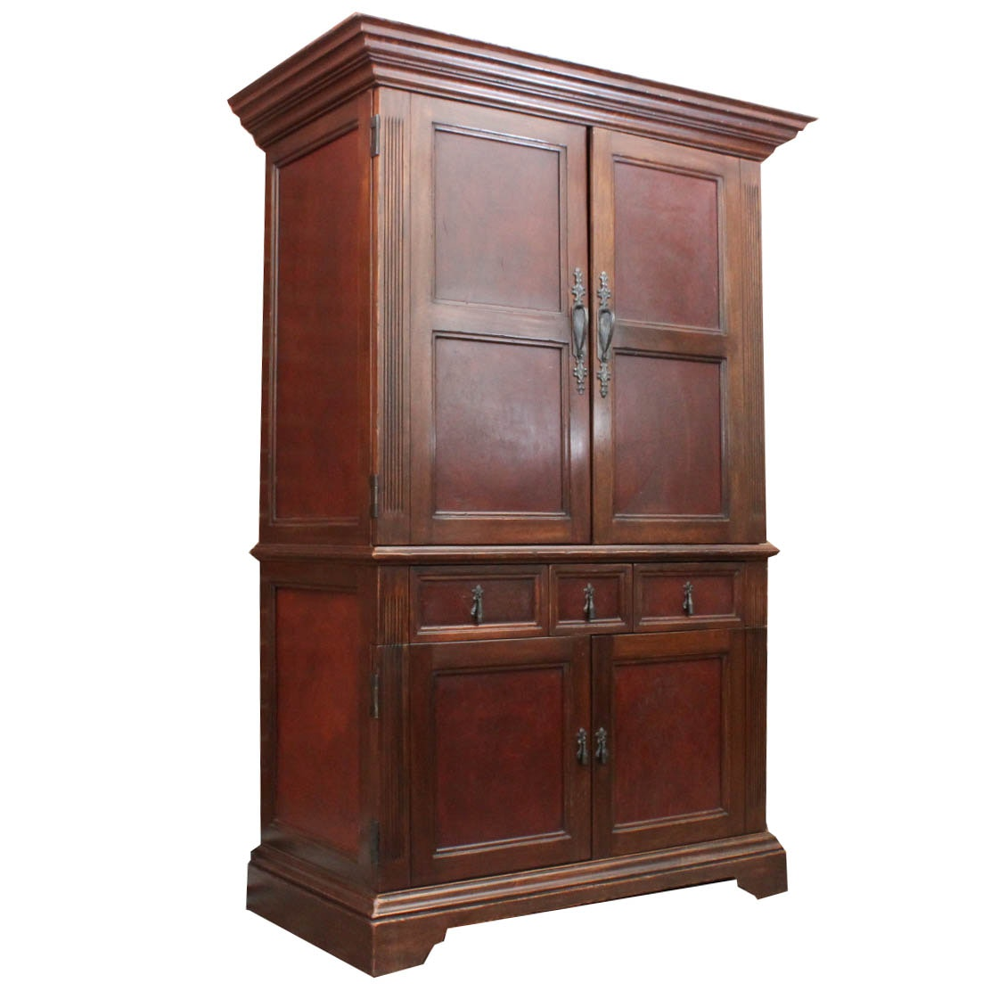 Handcrafted Peruvian Entertainment Armoire by South Cone Trading Company