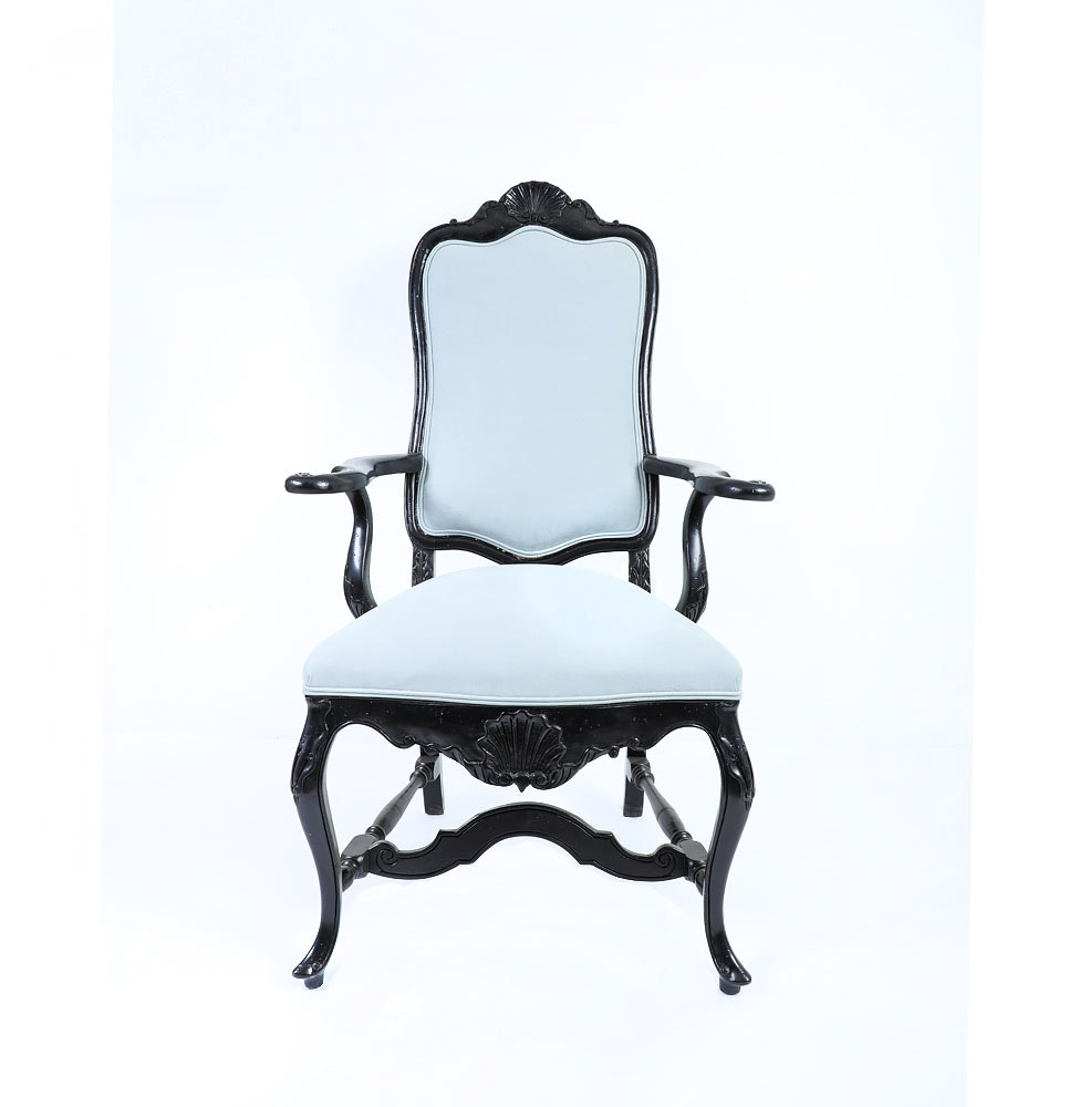 French Queen Anne Style Chair