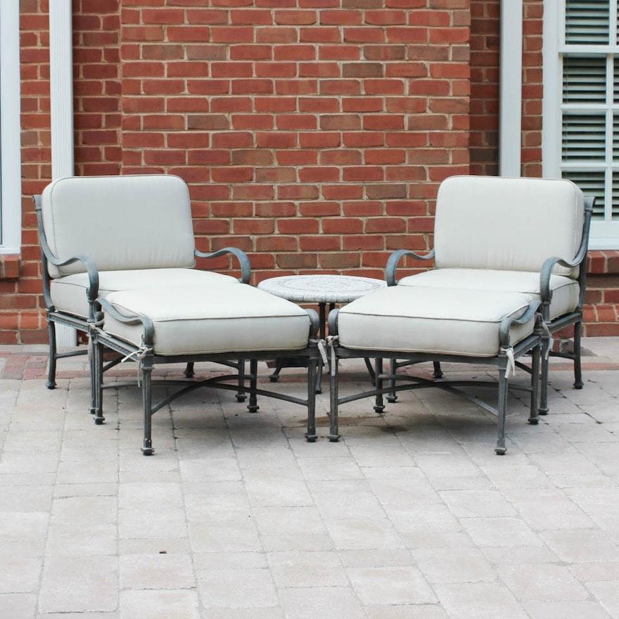 Woodard Landgrave Patio Lounge Set
