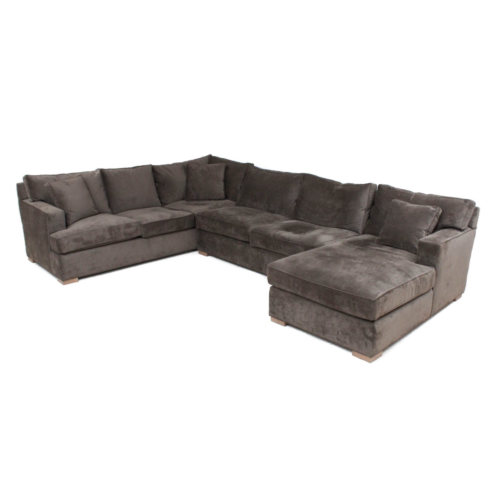 Delicieux Dune Microfiber Sectional From Arhaus Camden Collection ...