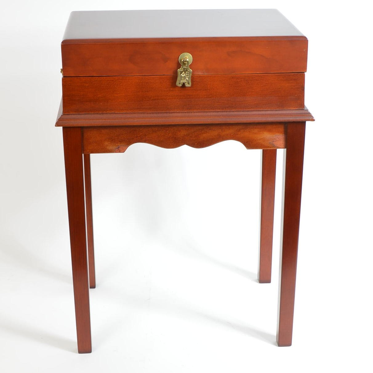 Cherry Wooden Side Table