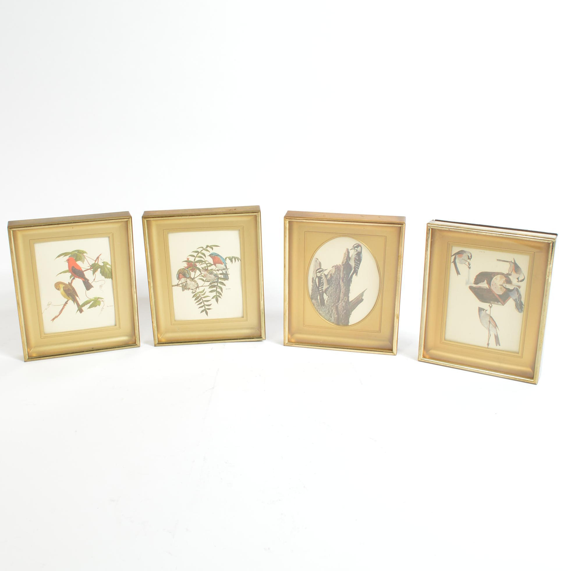 Miniature Framed Offset Lithographs After Ray Harm