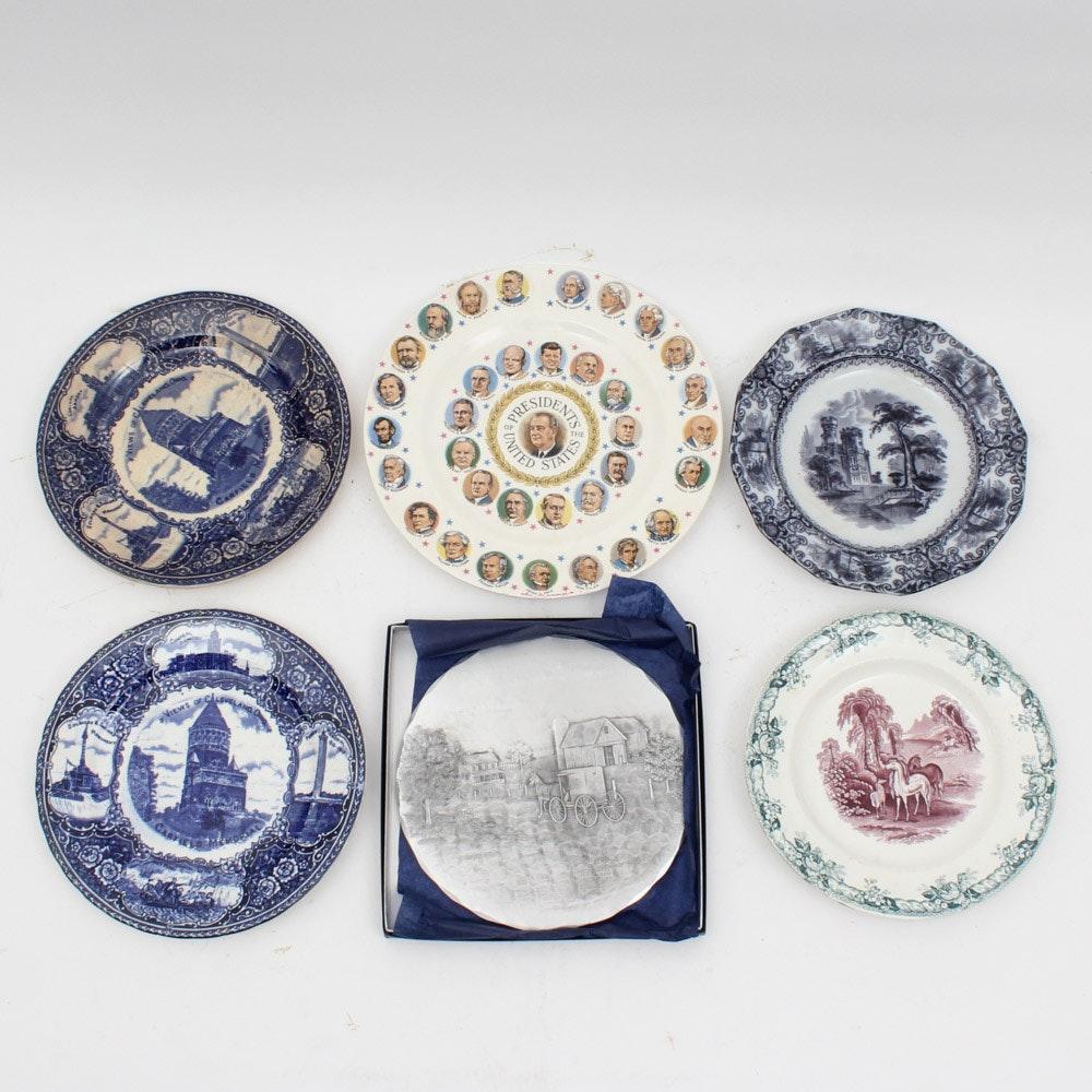 Decorative Antique and Vintage Plates