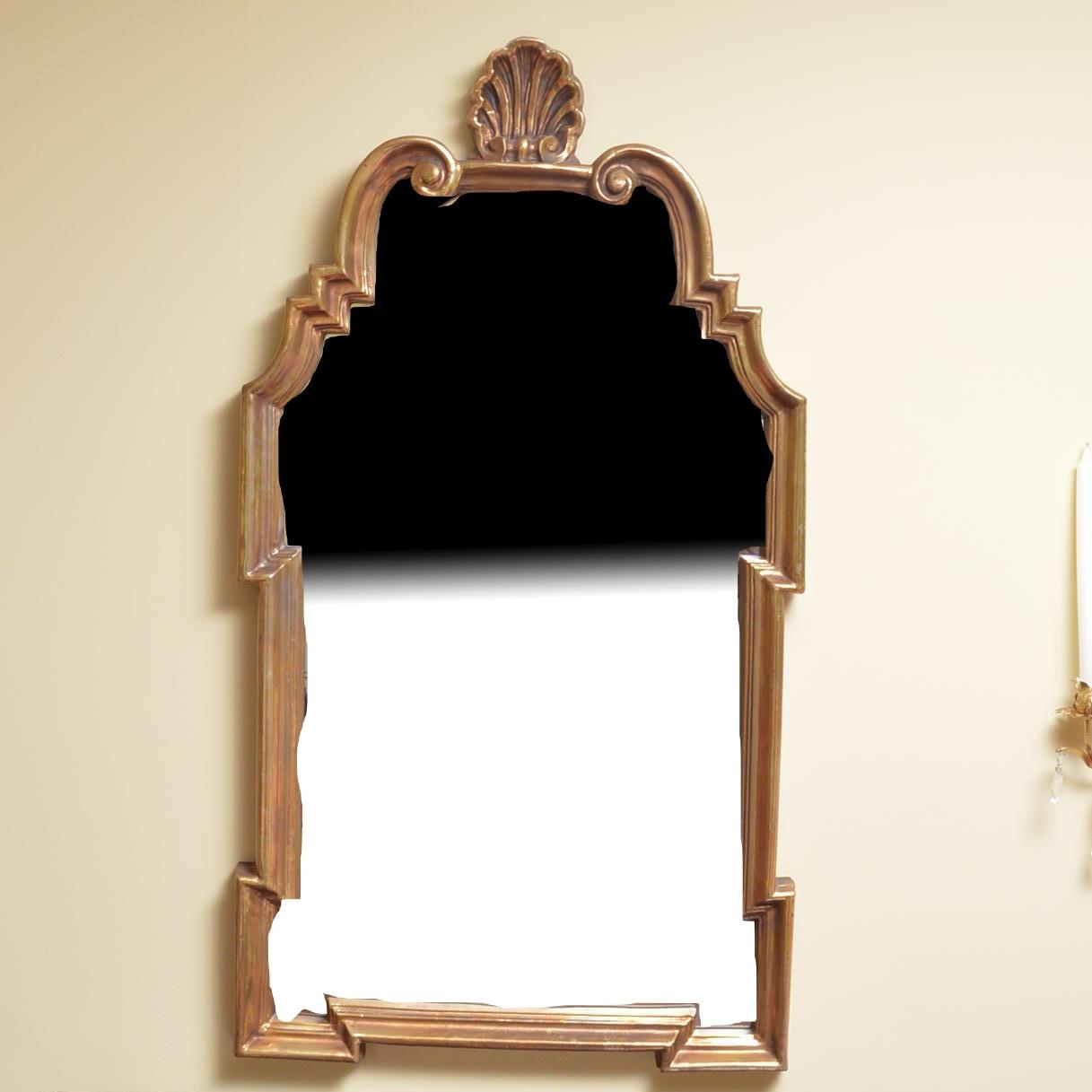 Gilt Gesso Wall Mirror