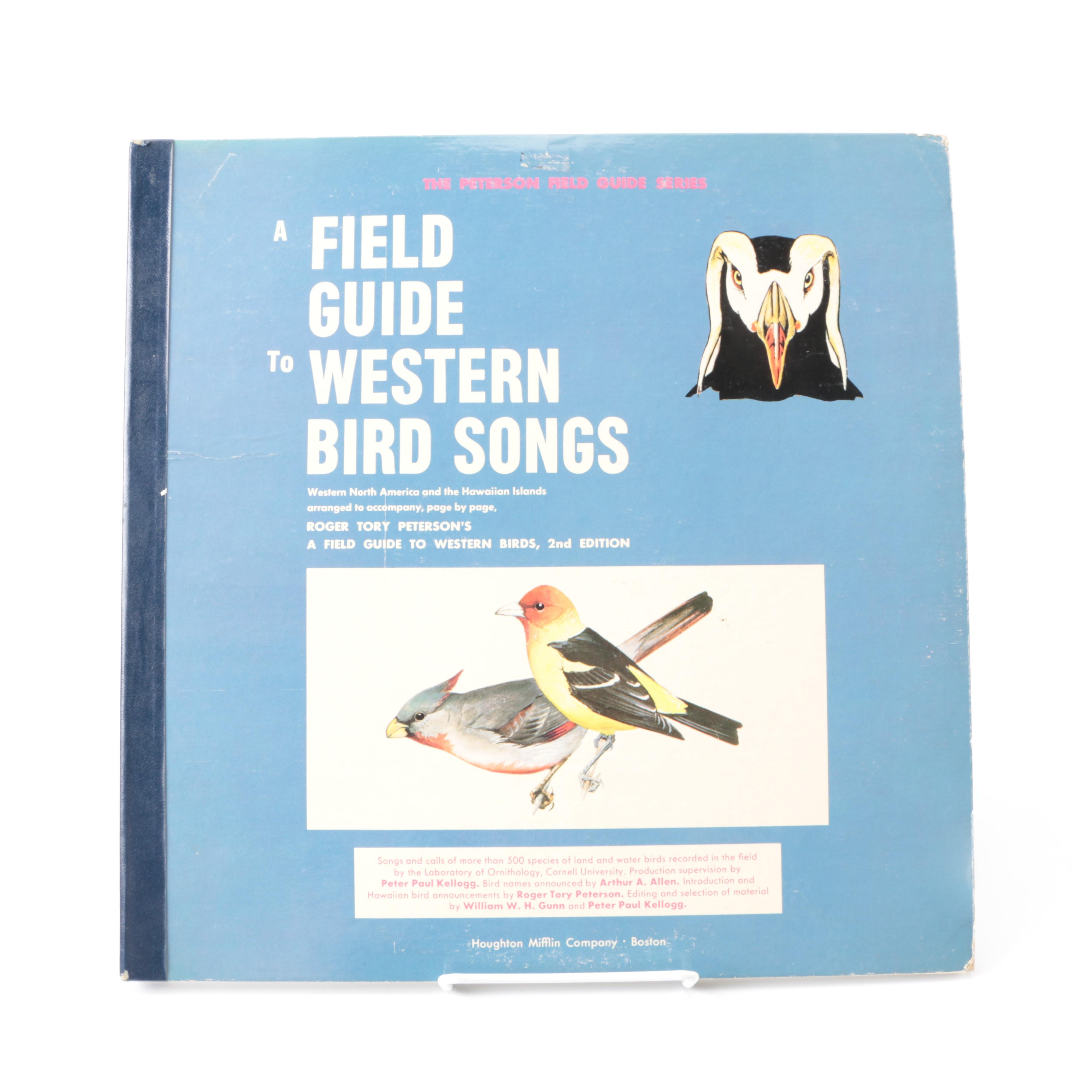 """""""A Field Guide to Western Bird Songs"""" Record Set"""