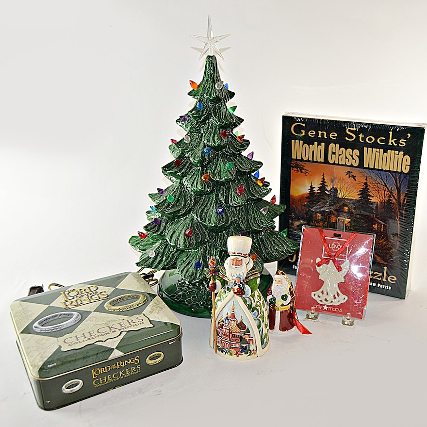 Lord Of The Rings Christmas Ornaments.Retro Christmas Tree Jim Shore Spode Lord Of The Rings Checkers