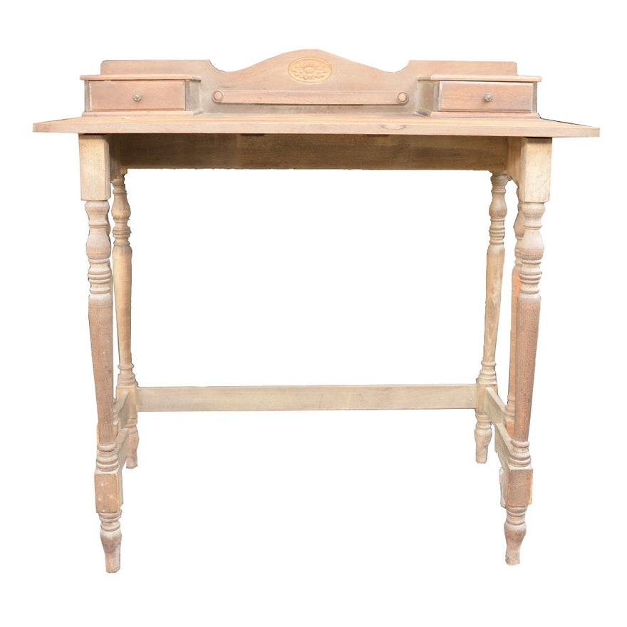 Antique Drop Leaf Desk ... - Antique Drop Leaf Desk : EBTH