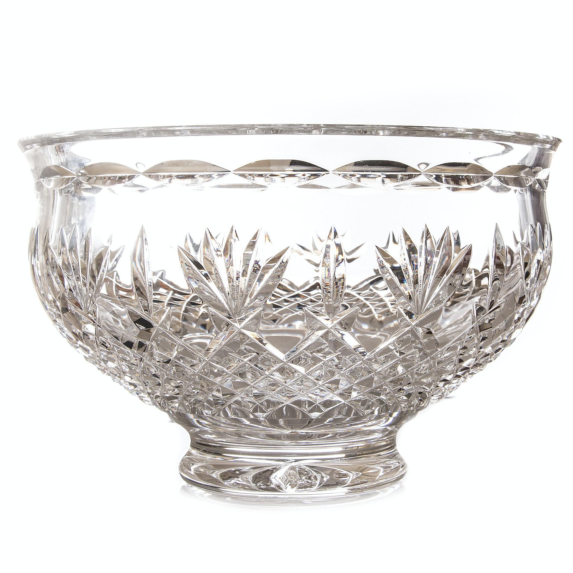 "Waterford Crystal ""Killarney"" Bowl"
