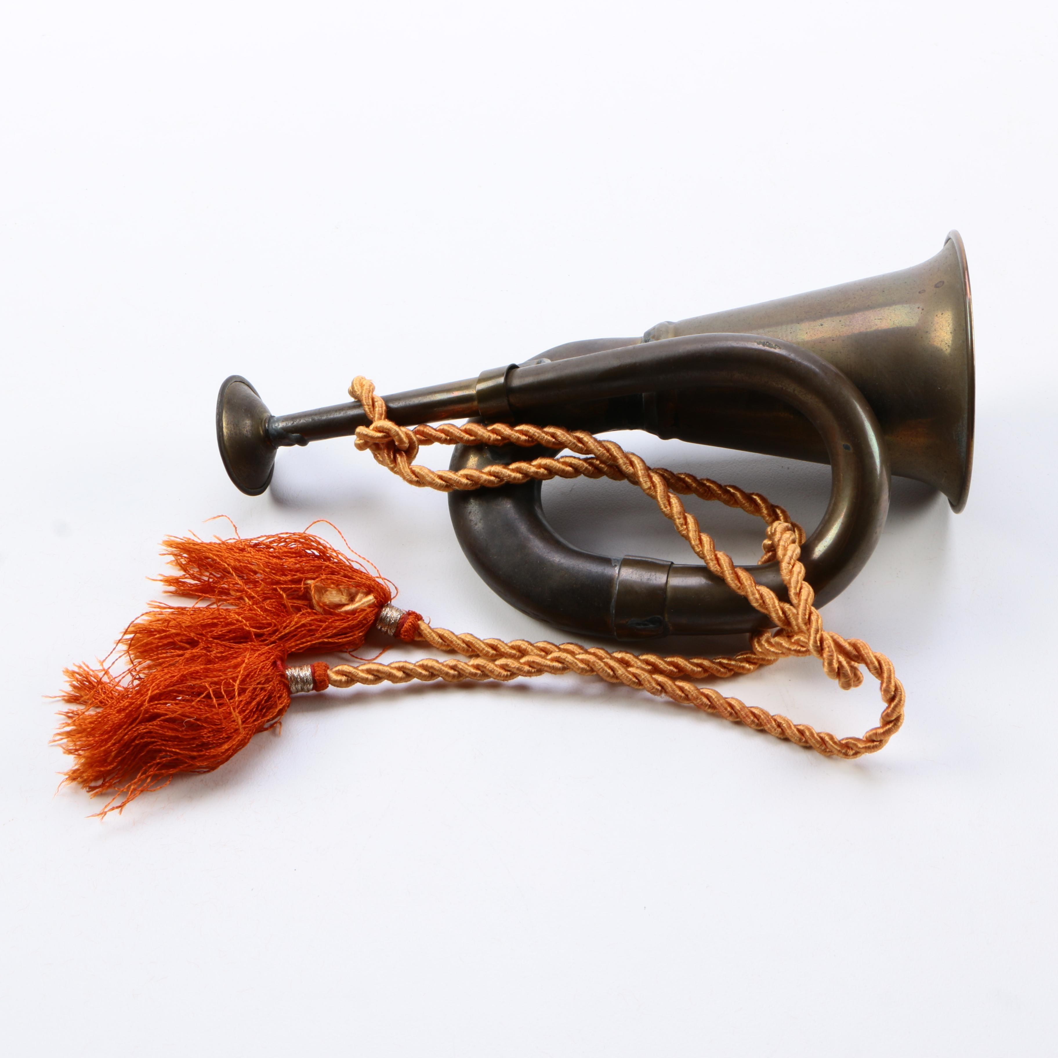 Decorative Bronze Horn