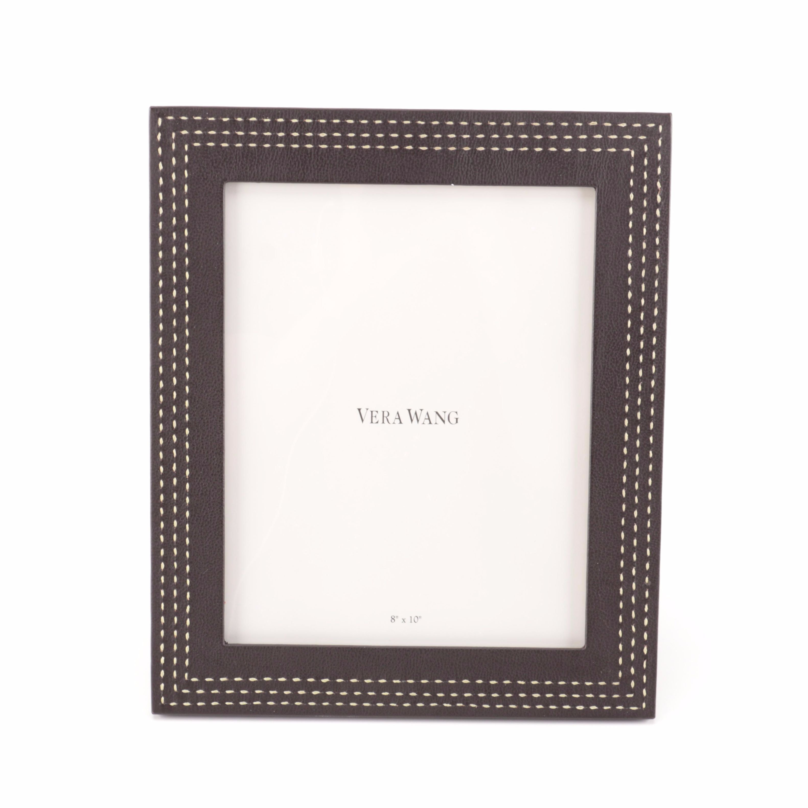 Vera Wang Leather Picture Frame