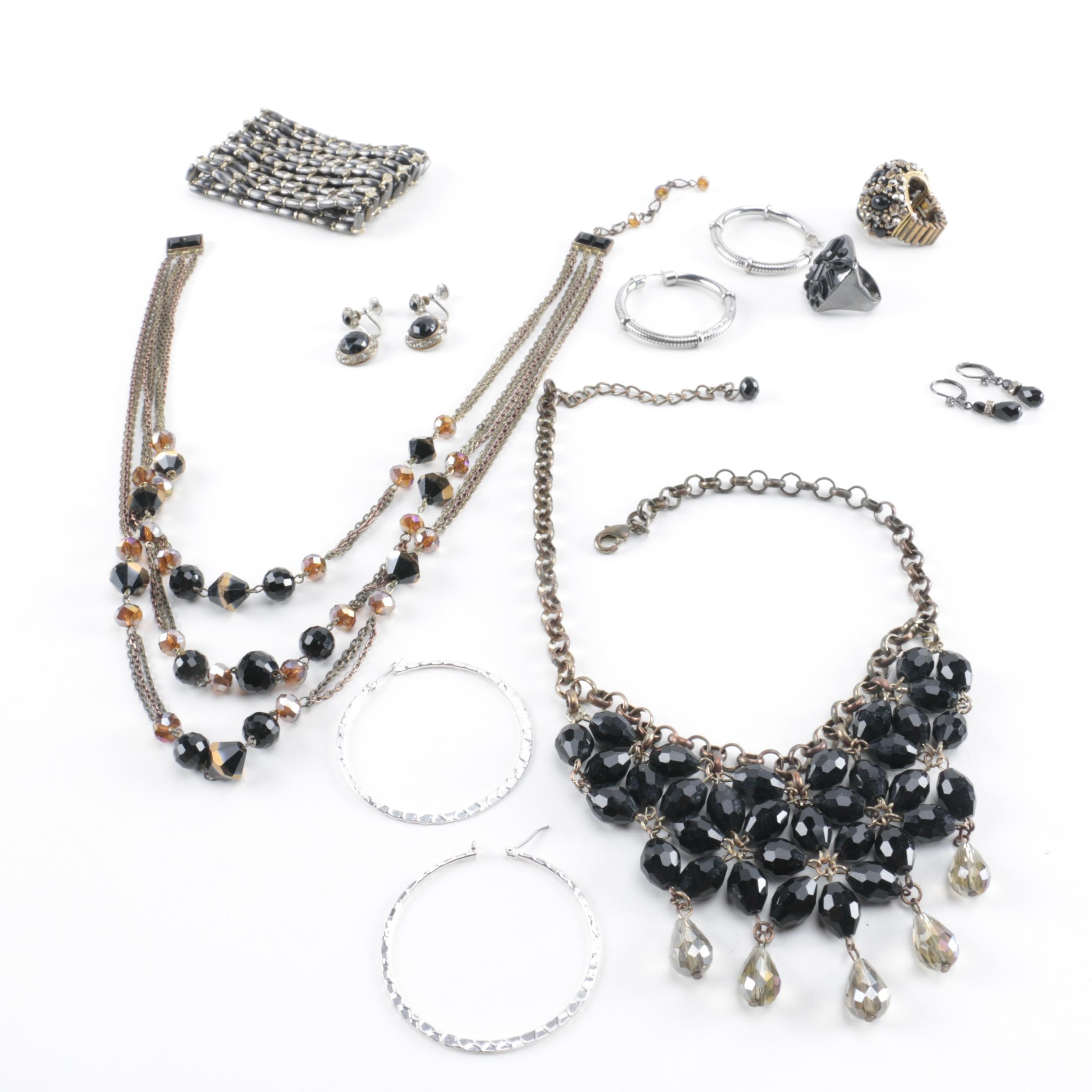 Collection of Vintage Inspired Jewelry