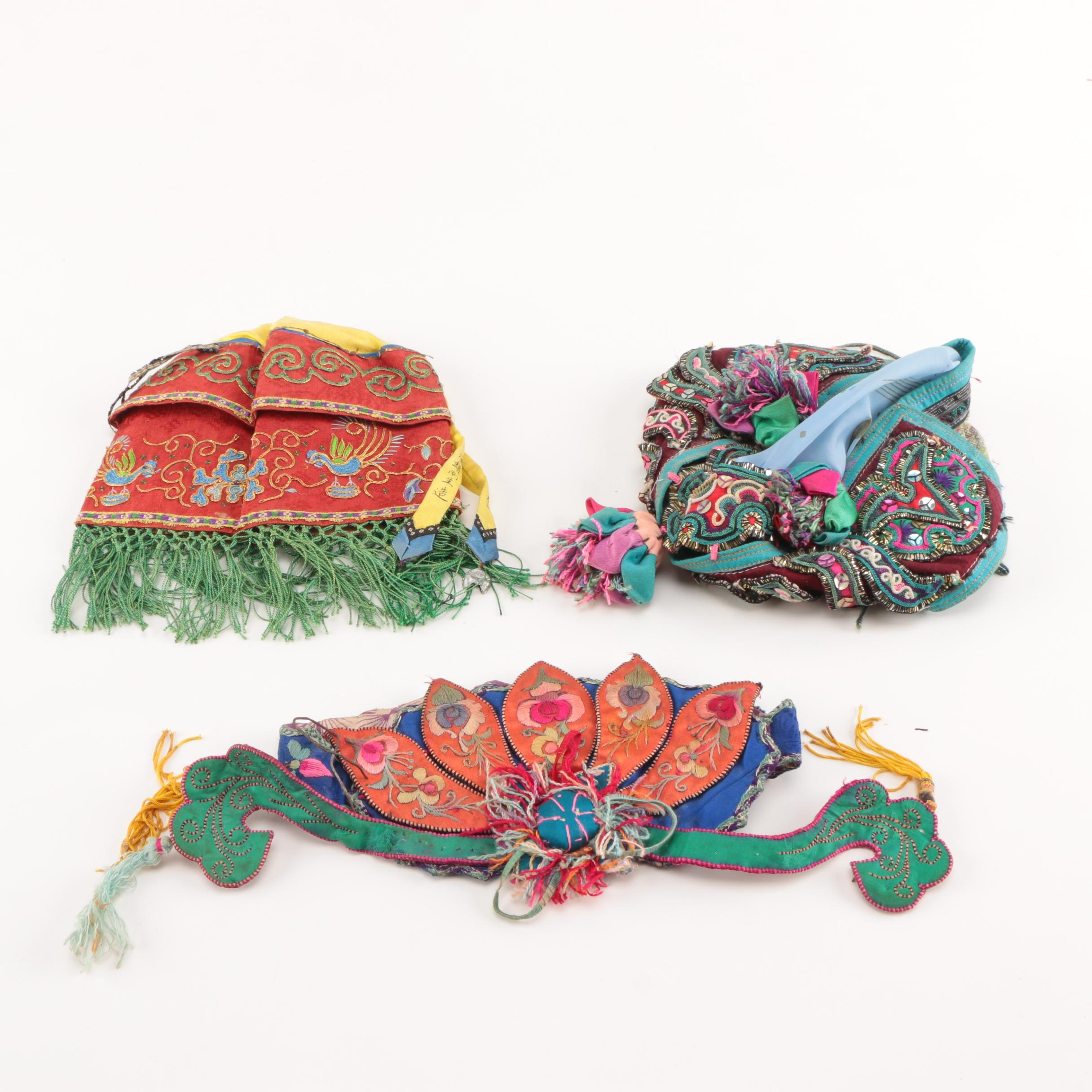 Handmade Chinese Style Headpieces for Children