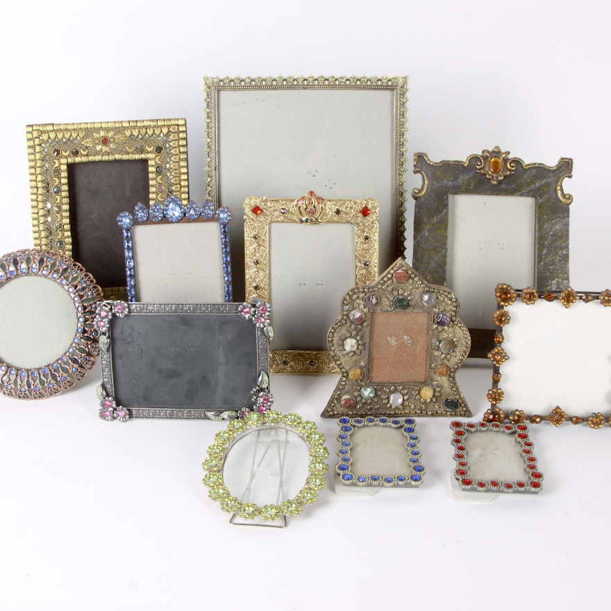 Beaded Picture Frame Assortment : EBTH