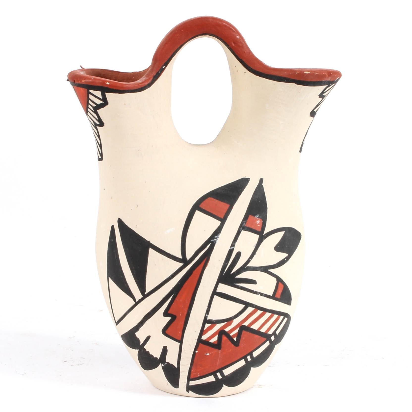 Jemez Pueblo Wedding Vase