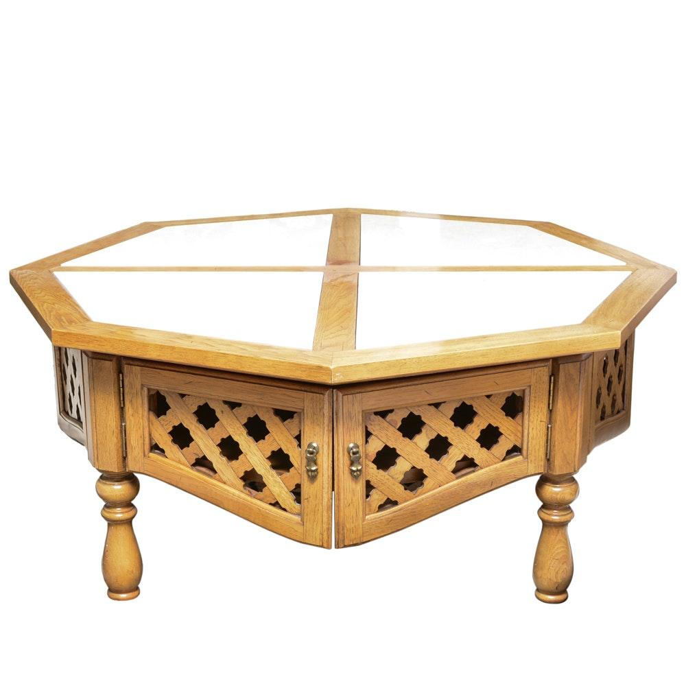 Thomasville Octagonal Coffee Table