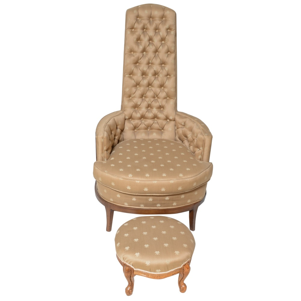 Victorian Tufted Chair
