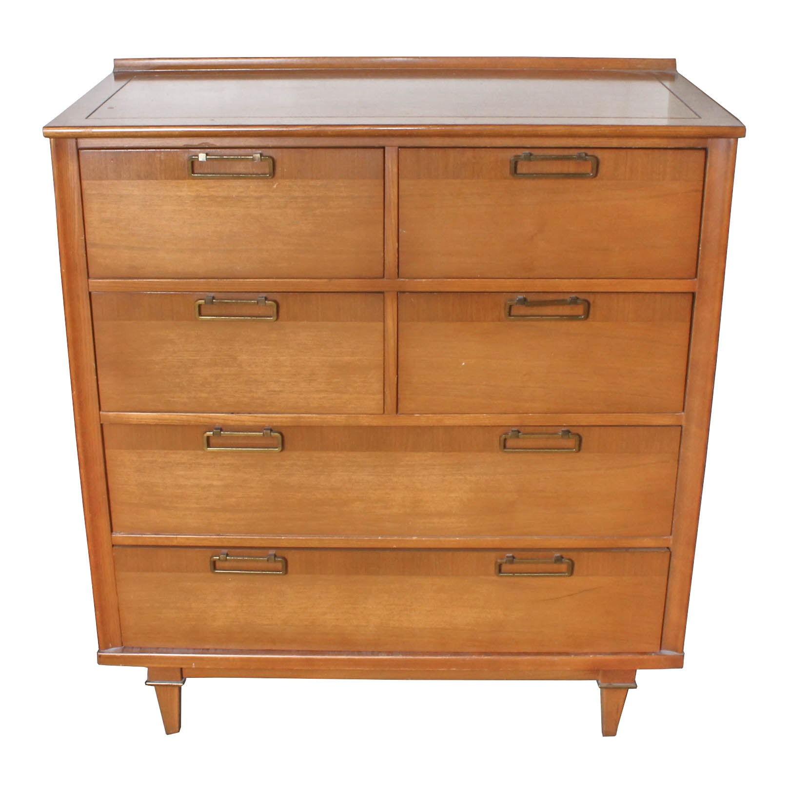 Vintage Mid-Century Chest of Drawers by Stanley