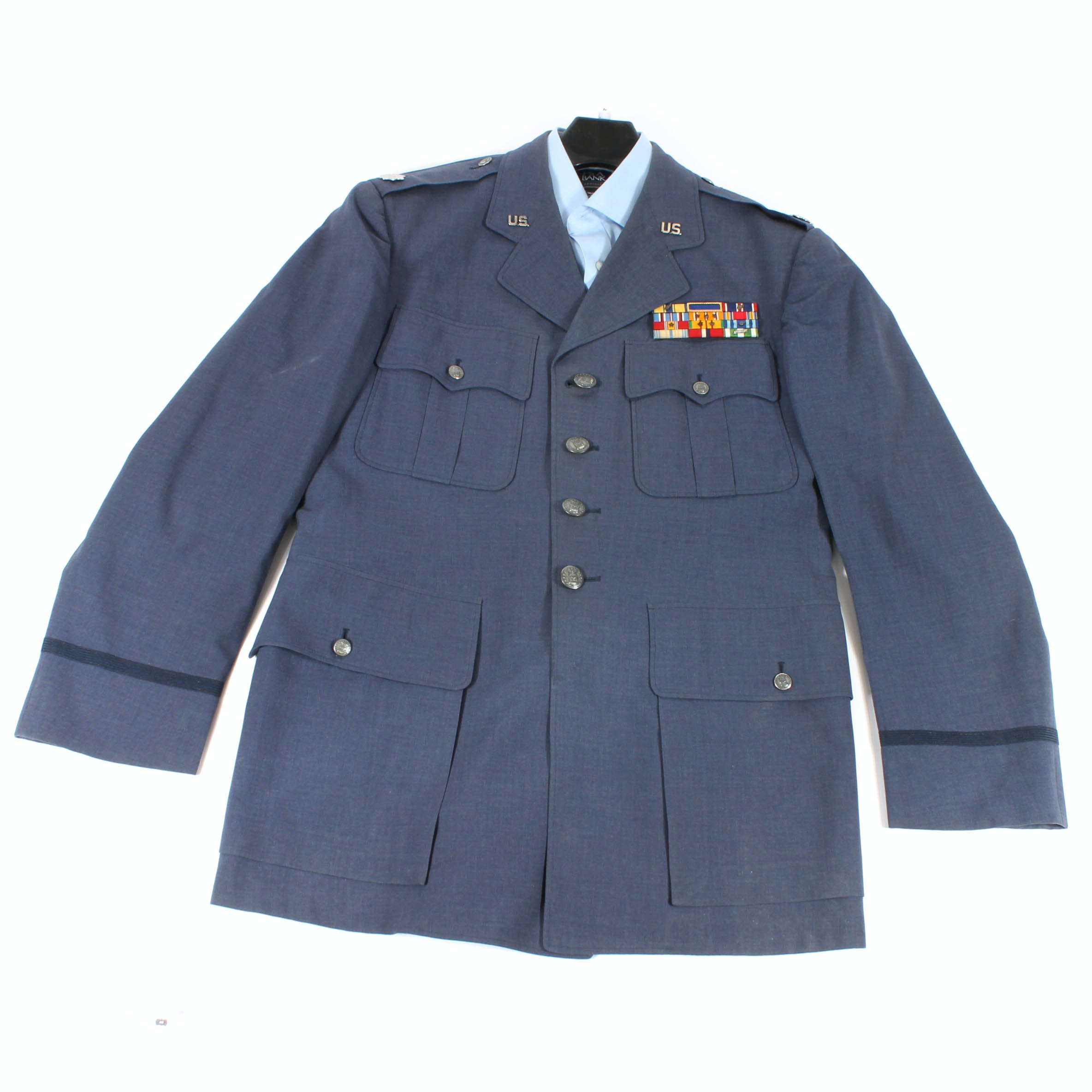 U.S. Air Force Lieutenant Colonel Service Dress Coat and Shirt