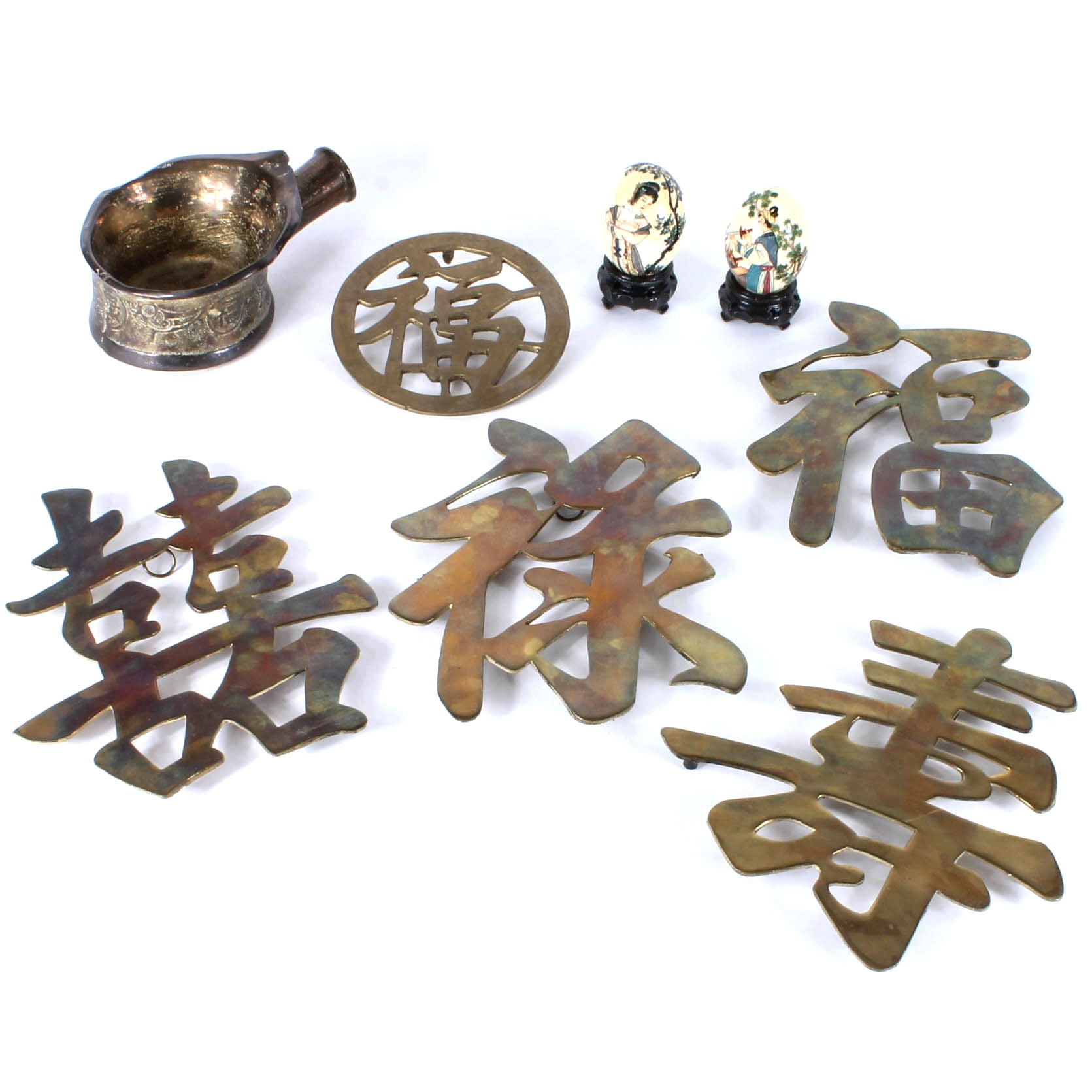 Assortment of Chinese Decor