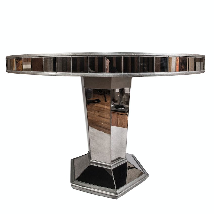 """Pier 1 Dining Table: """"Hayworth"""" Mirrored Dining Table By Pier 1 Imports"""
