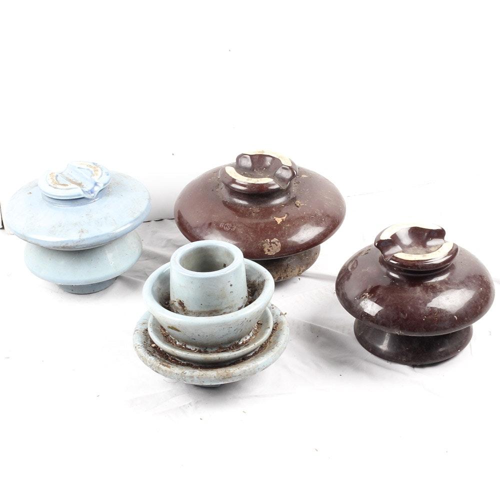 Vintage Ceramic Insulators
