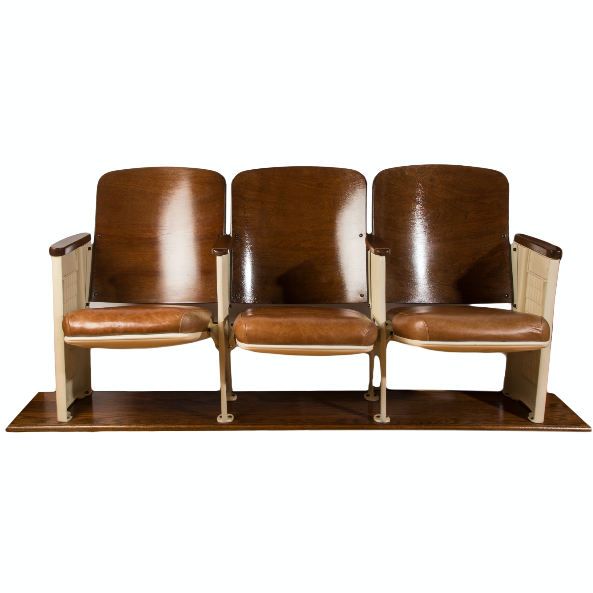Art Deco Theatre Fold-Down Seating