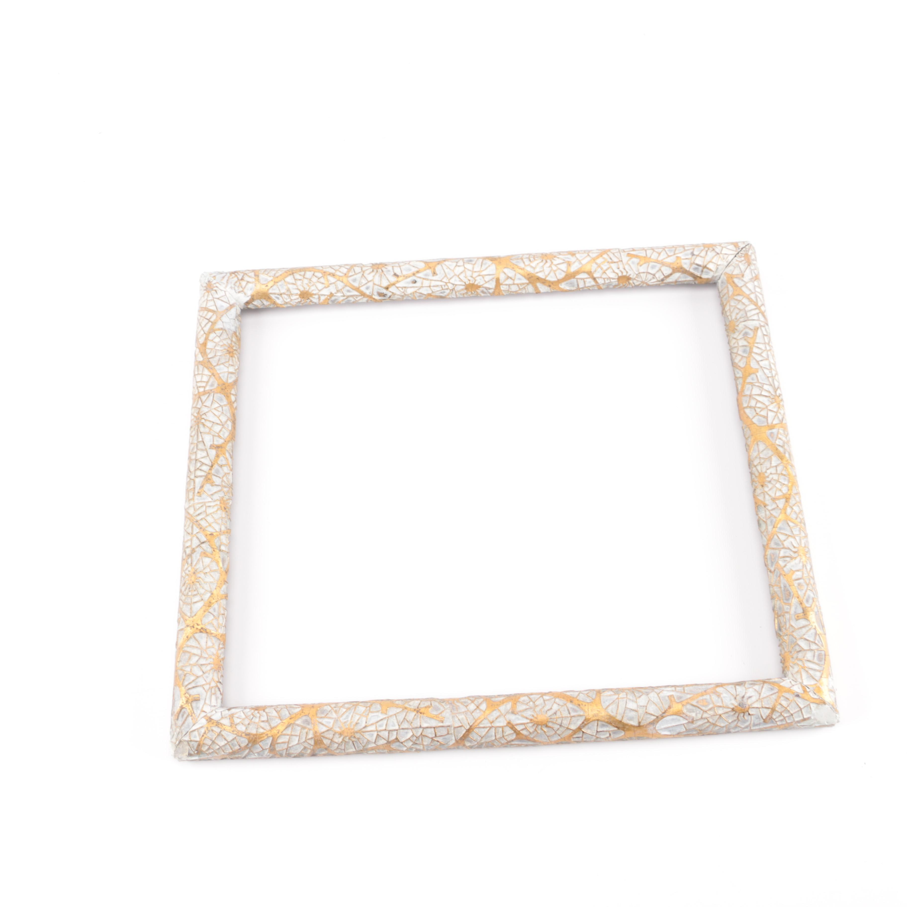 Vintage Frame With Gold Tone Spider Design