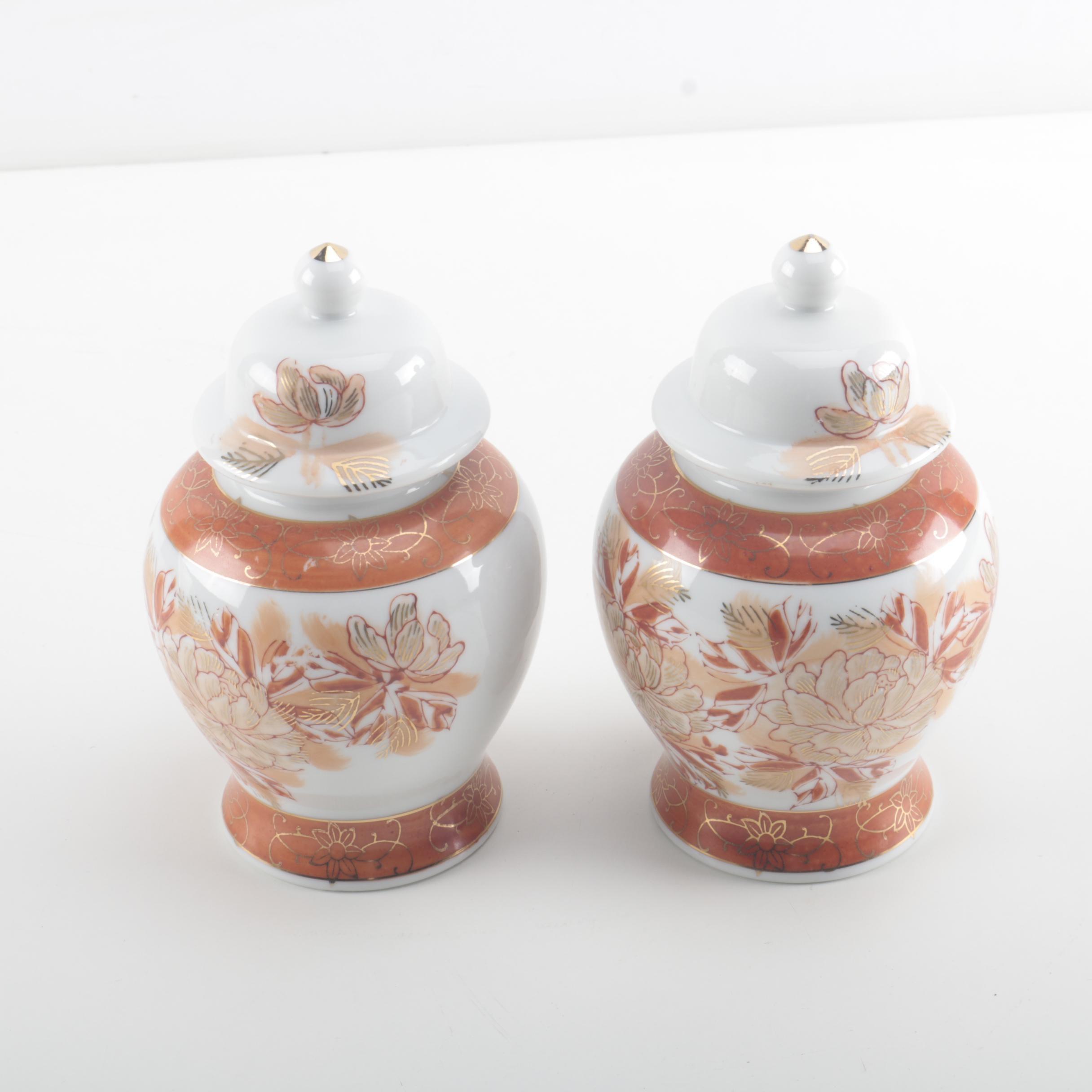 porcelain ginger jar vases ebth