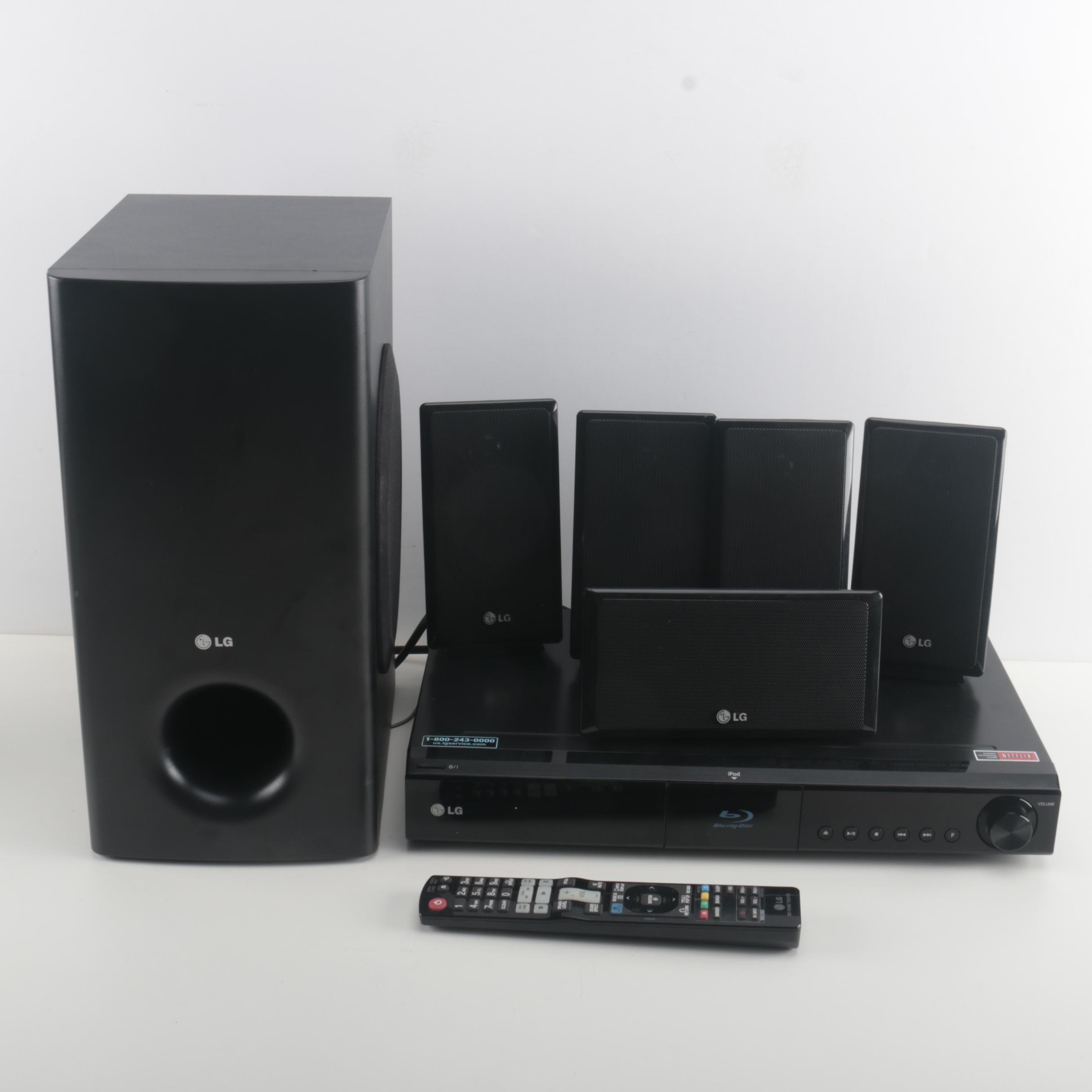 lg lhb335 blu ray home theater system ebth rh ebth com LG LHB335 Specs LG LHB335 Remote