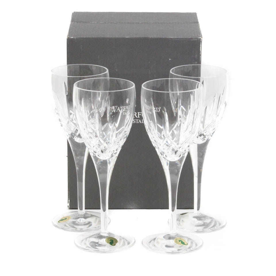"Waterford Crystal ""Lismore Nouveau"" Goblets"