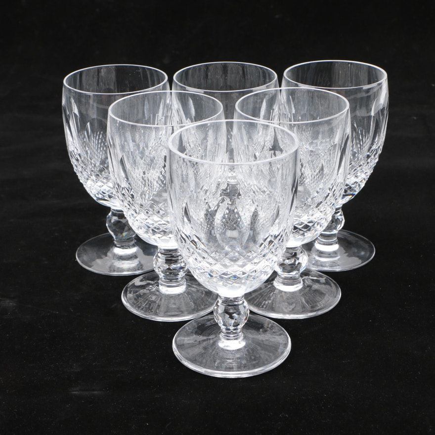 "Waterford ""Colleen"" Crystal Water Goblet"
