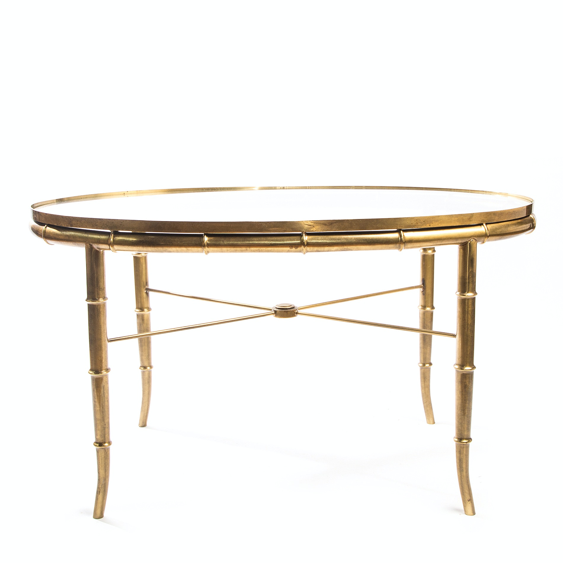 Vintage Hollywood Regency Accent Table by William Doezema for Mastercraft Furniture
