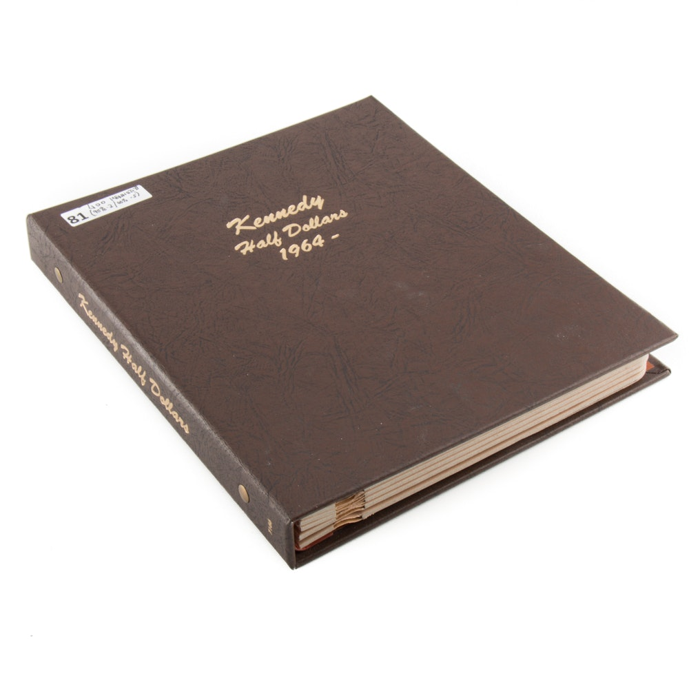 Complete Book of Kennedy Half Dollars 1964-2017