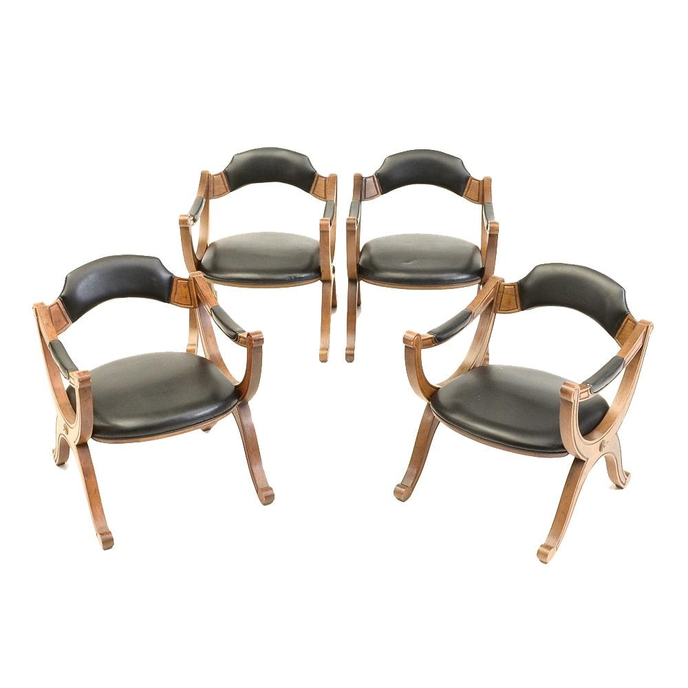 """Esperanto"" Arm Chairs By Drexel Furniture"