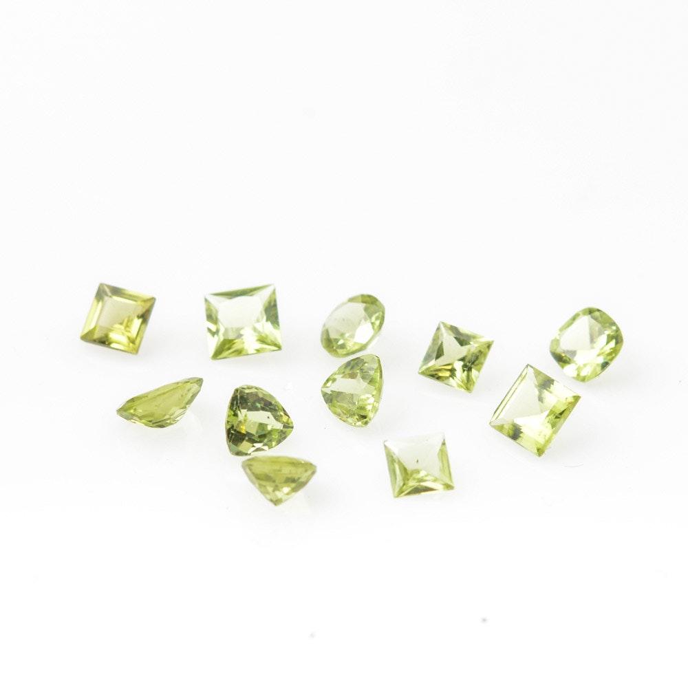 Loose Peridot Stones