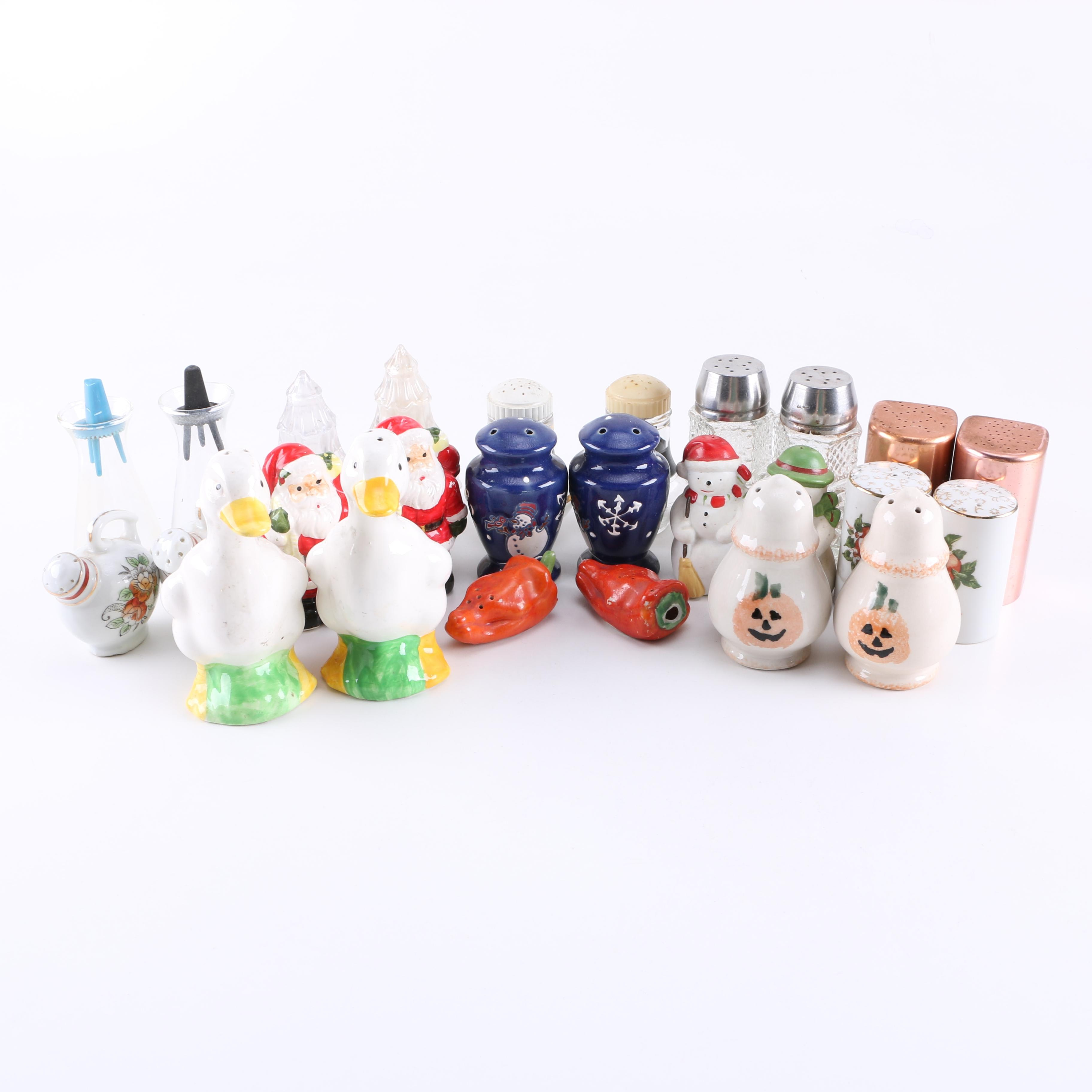 Salt and Pepper Shaker Assortment