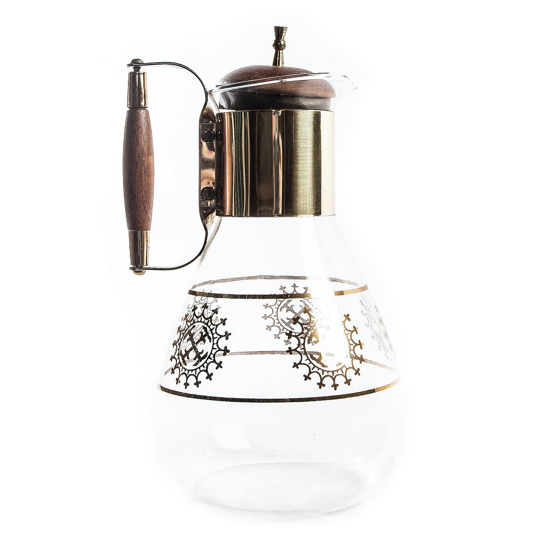 Mid Century Modern Glass Carafe