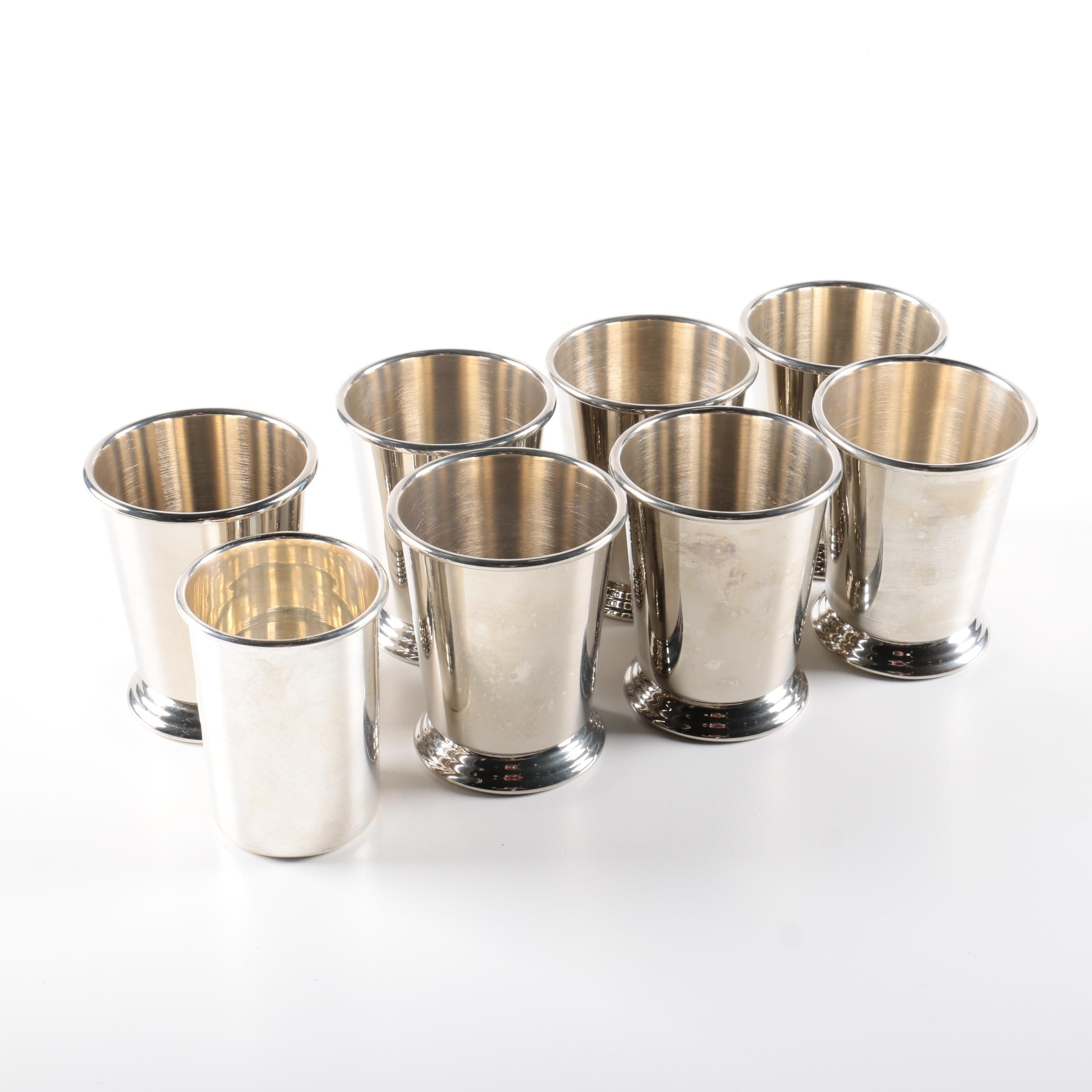 Set of Gorham Silver Plate Mint Julep Cups