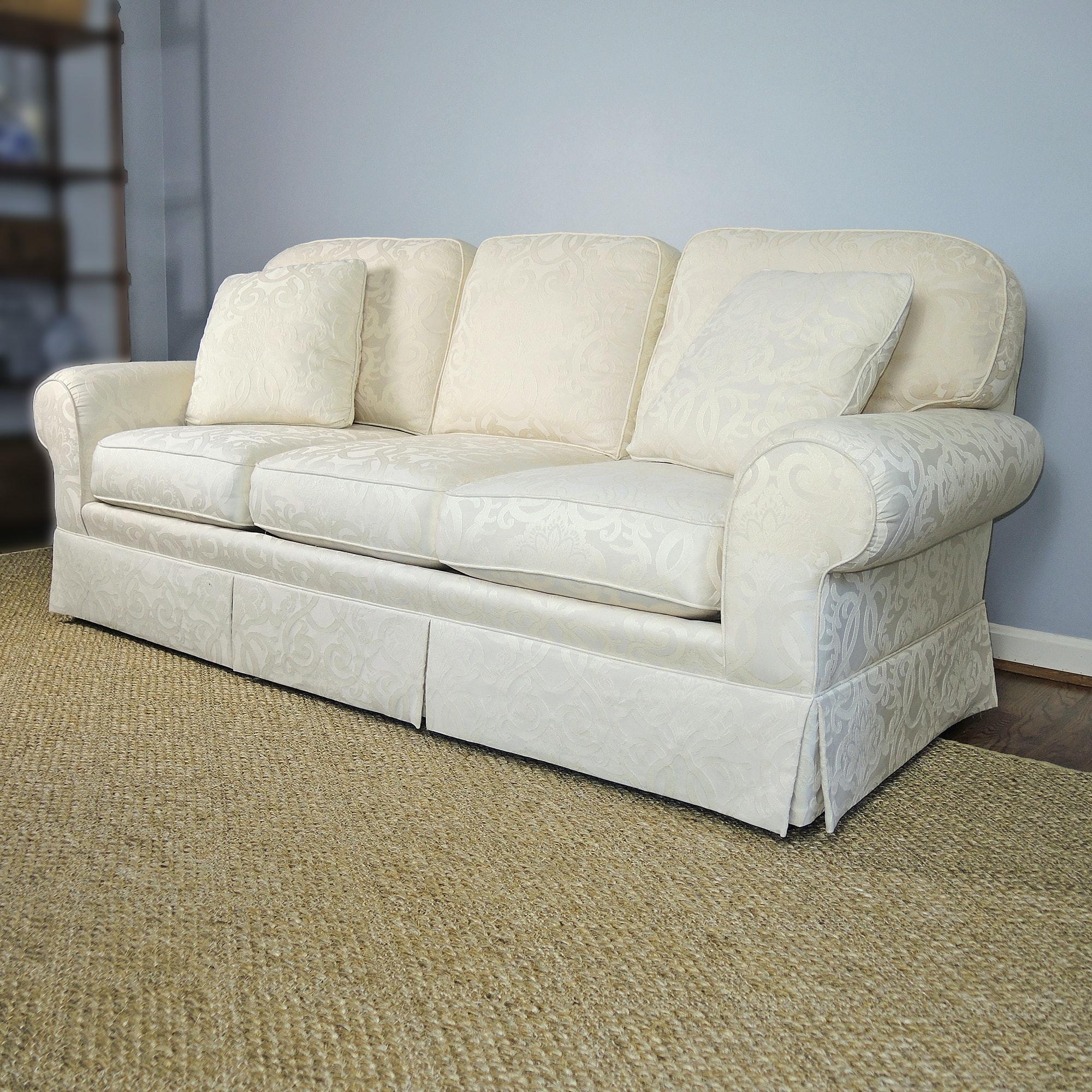 Sherrill Three Seat Upholstered Sofa