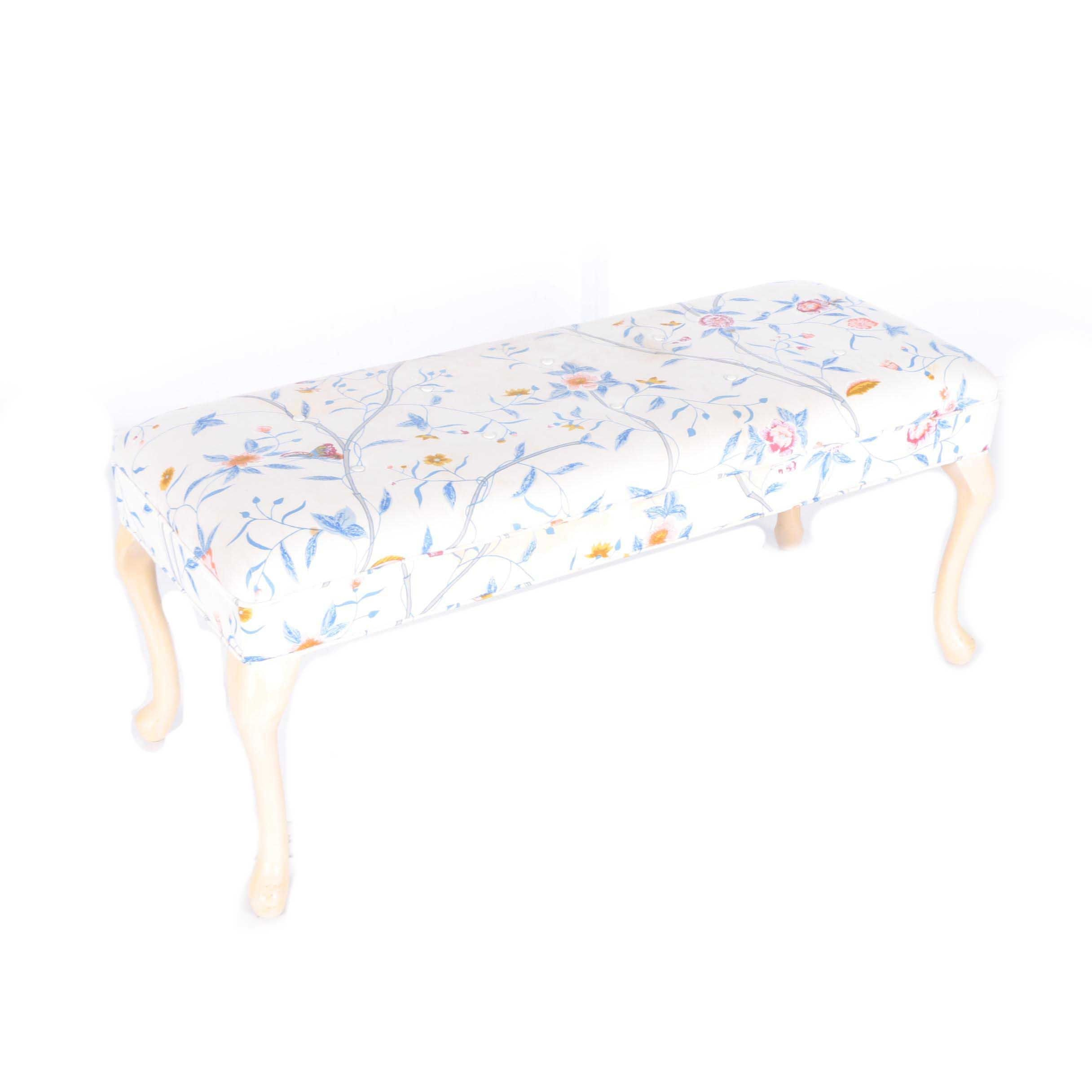 Floral Settee Bench