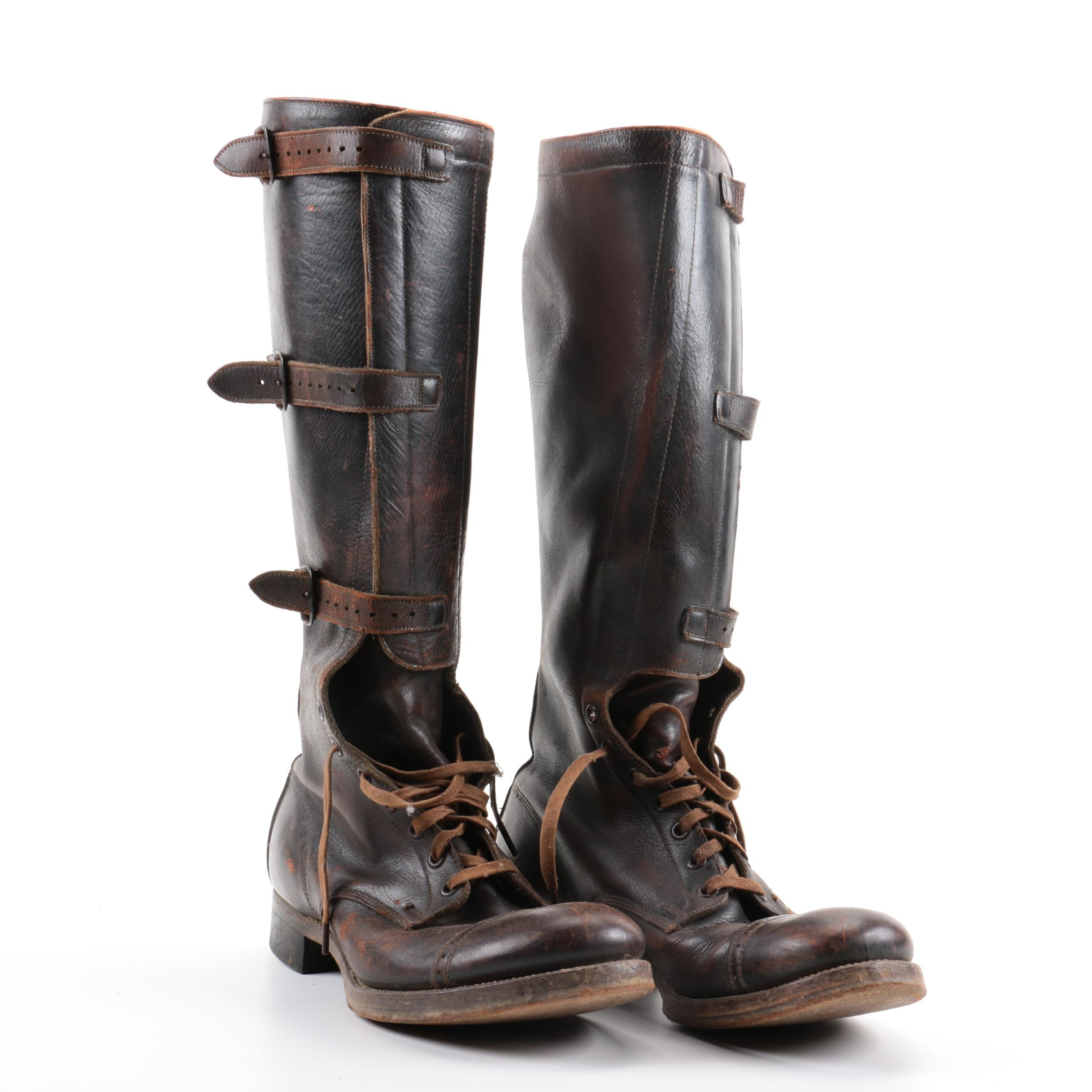 1946 International Shoe Co. Military Boots