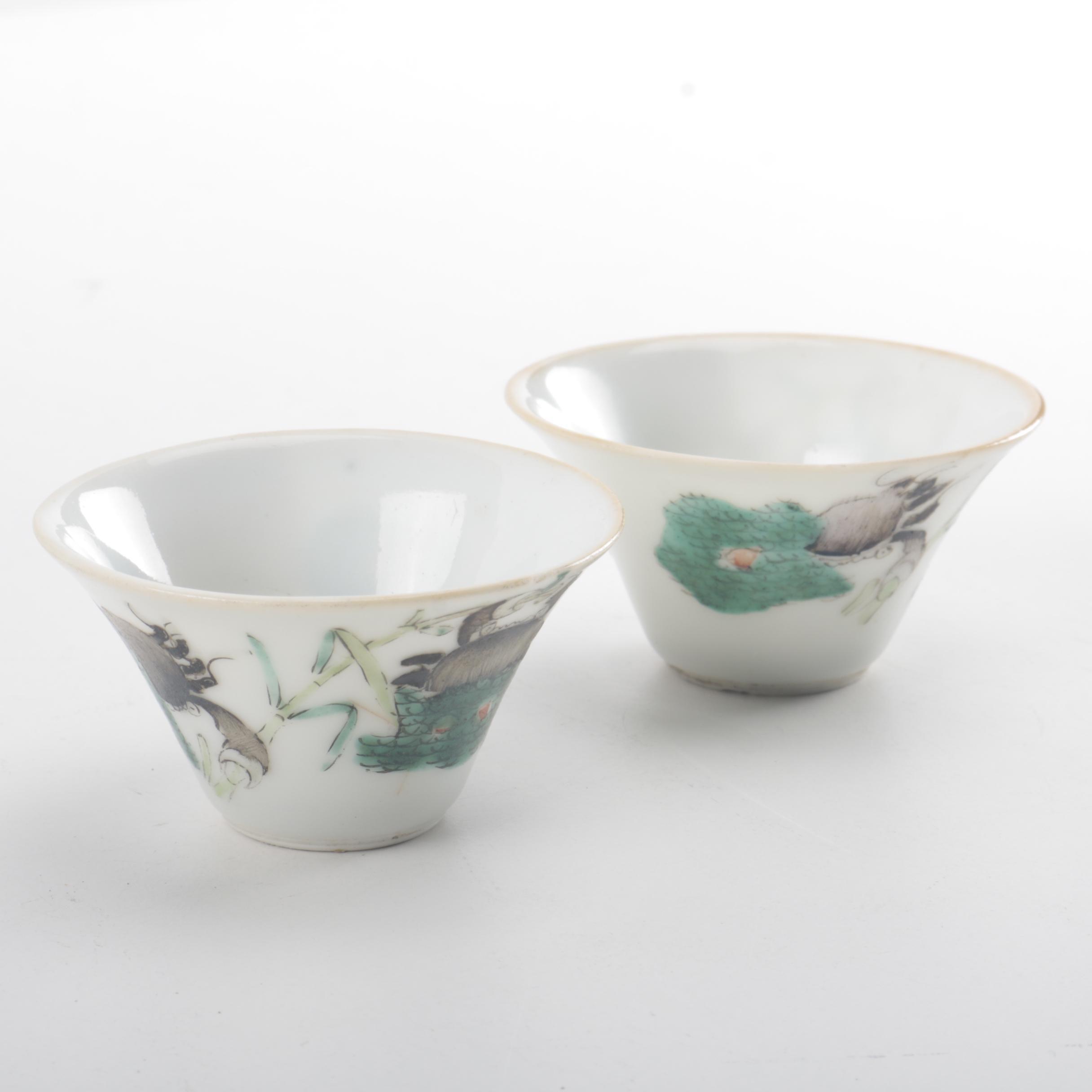 Antique Chinese Porcelain Bowls