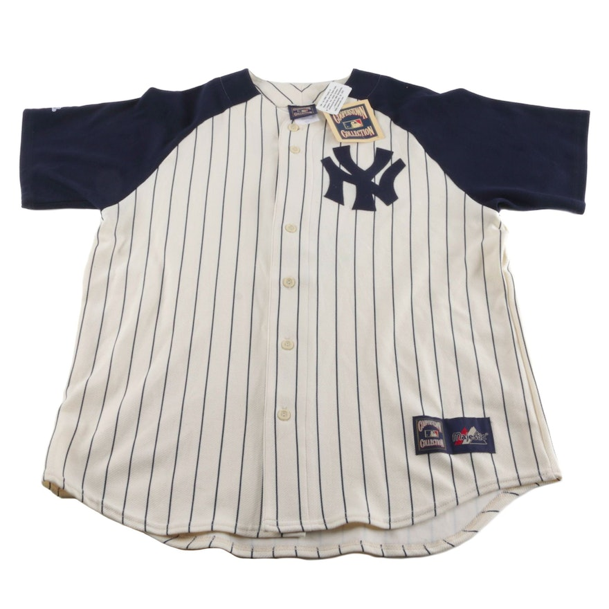 half off 460e7 397b1 Cooperstown Collection New York Yankees Babe Ruth Jersey